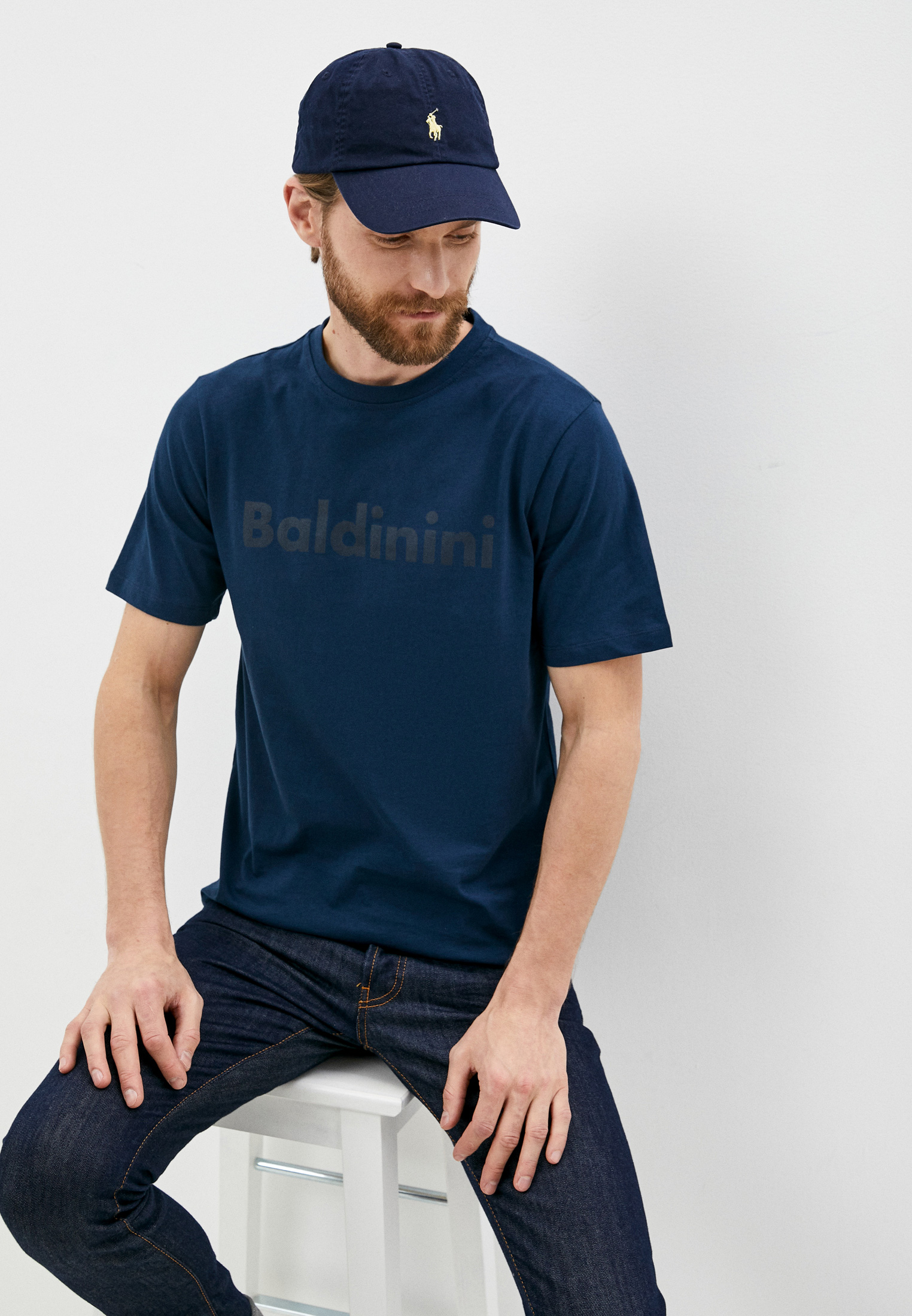 Мужская футболка Baldinini (Балдинини) TS16