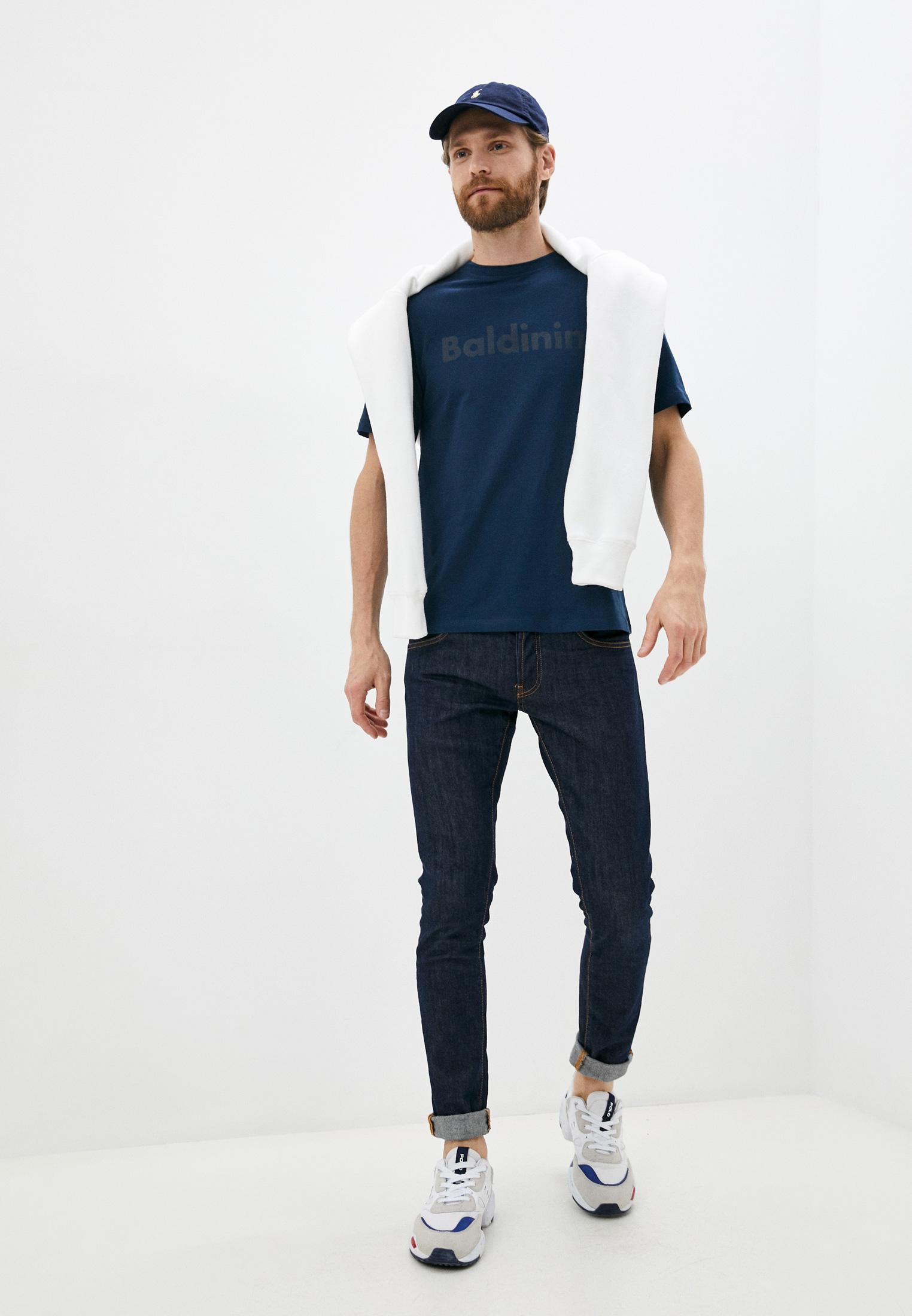 Мужская футболка Baldinini (Балдинини) TS16: изображение 3