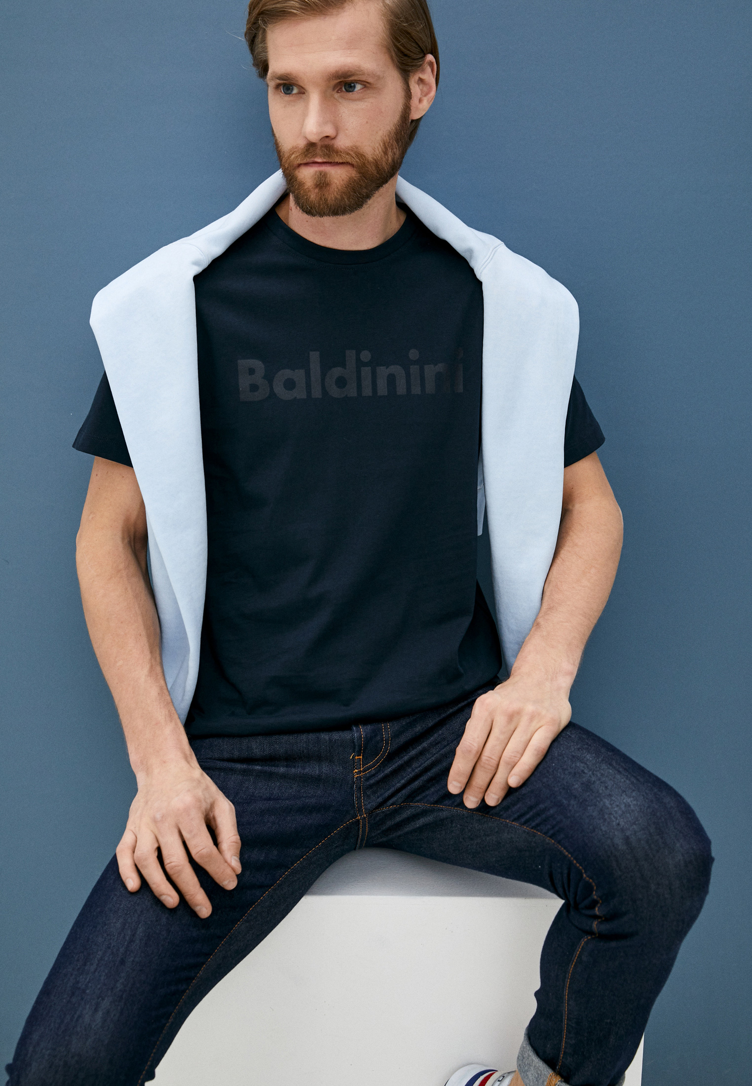 Мужская футболка Baldinini (Балдинини) TS18: изображение 2