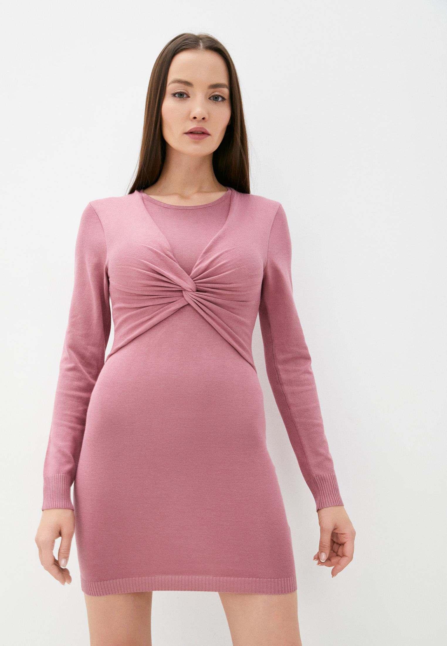 Вязаное платье MISSGUIDED Платье Missguided