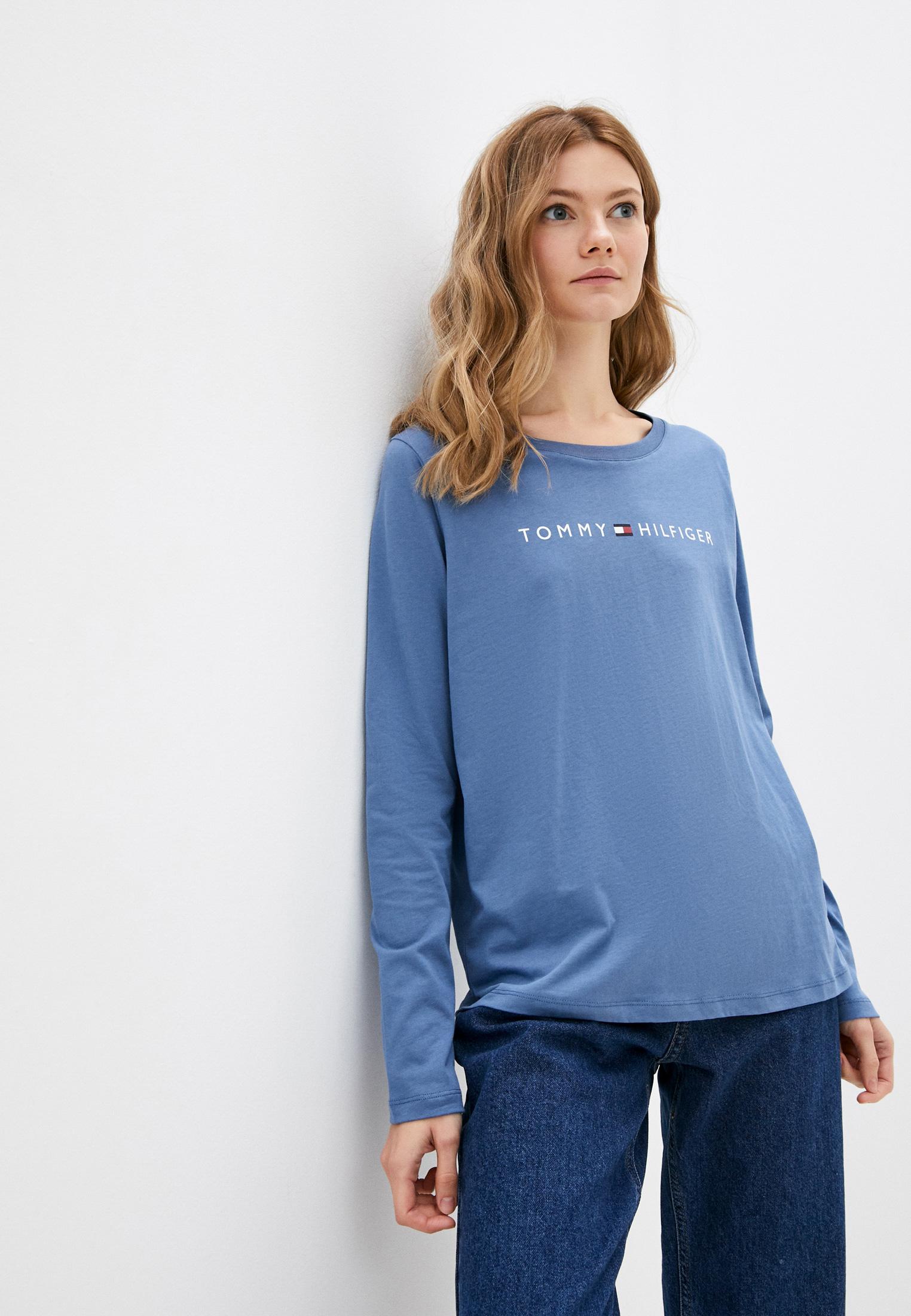 Домашняя футболка Tommy Hilfiger (Томми Хилфигер) Лонгслив домашний Tommy Hilfiger
