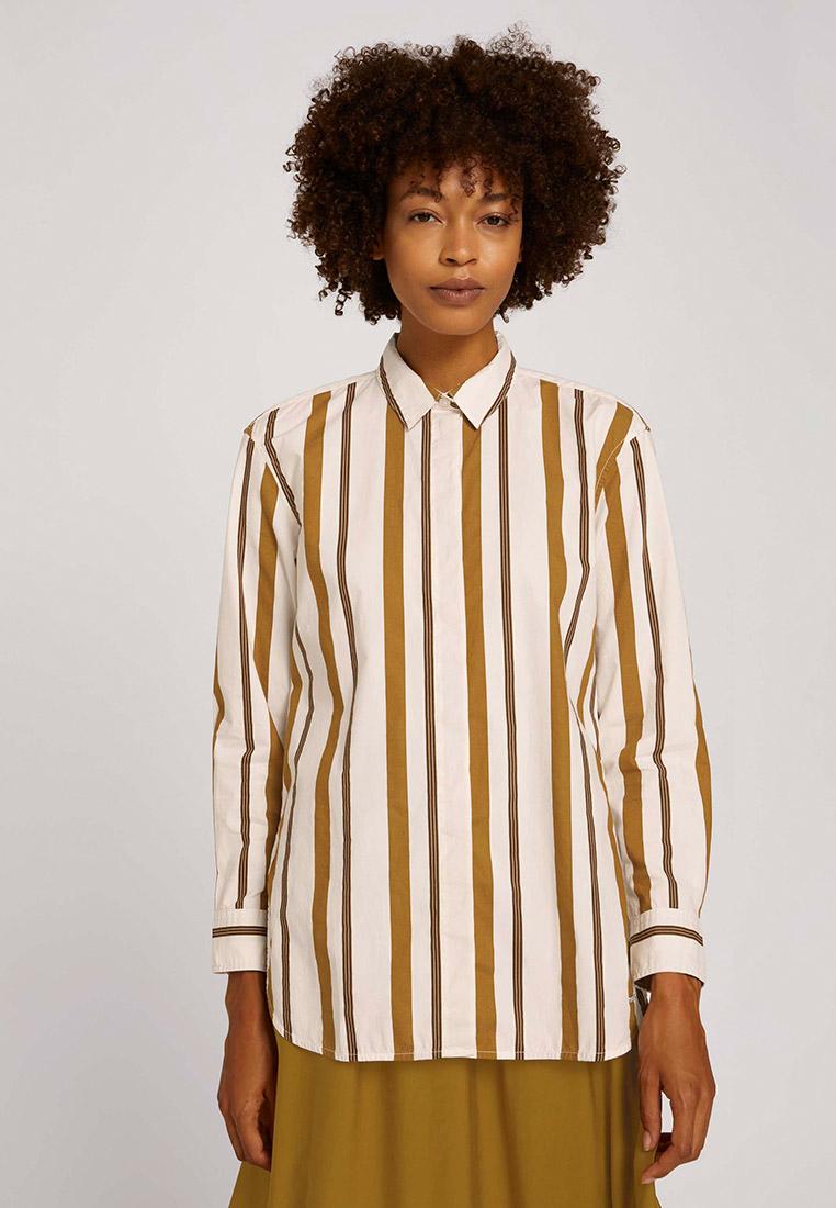 Женские рубашки с длинным рукавом Tom Tailor (Том Тейлор) Рубашка Tom Tailor