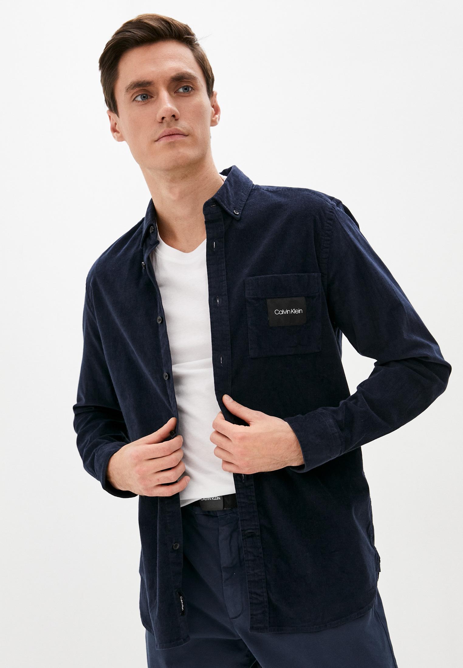 Рубашка с длинным рукавом Calvin Klein (Кельвин Кляйн) Рубашка Calvin Klein