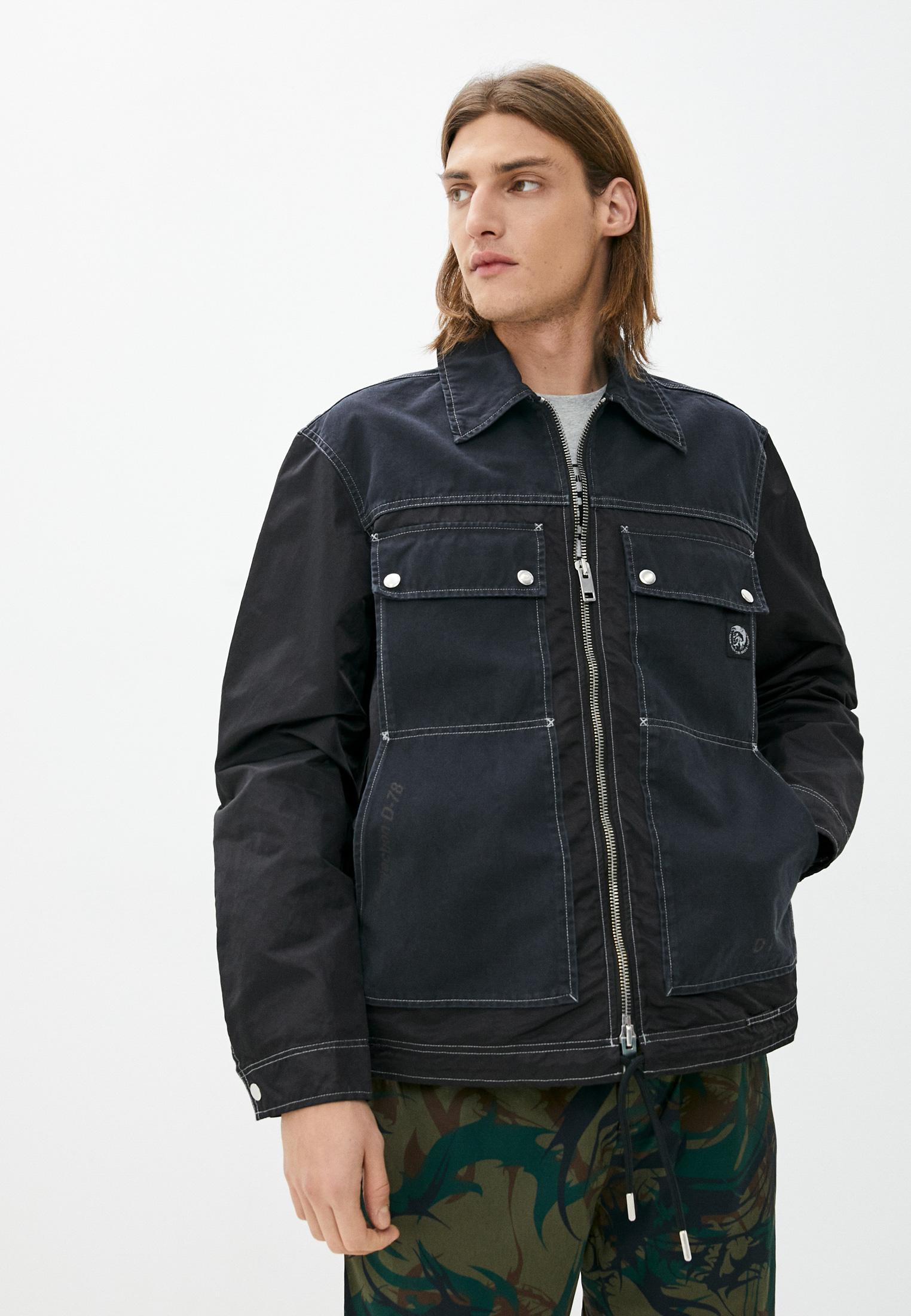 Джинсовая куртка Diesel (Дизель) Куртка джинсовая Diesel
