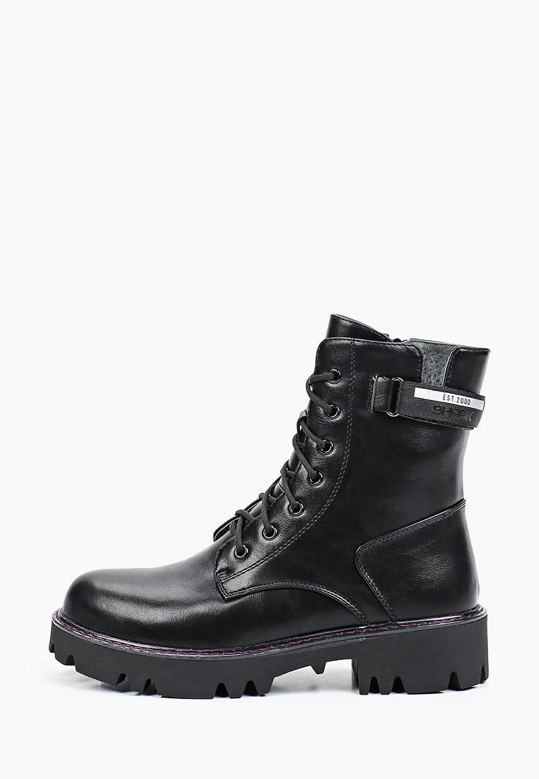 Ботинки для девочек KENKA TQO_25-291_black