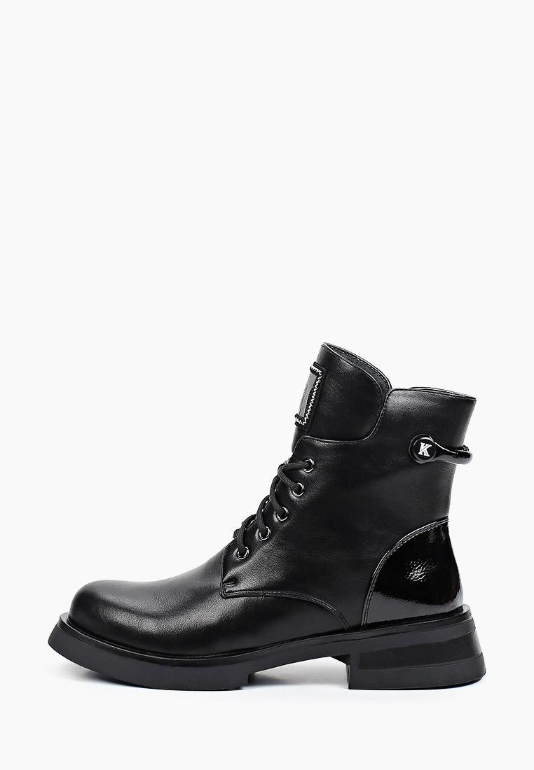Ботинки для девочек KENKA TQZ_25-915_black