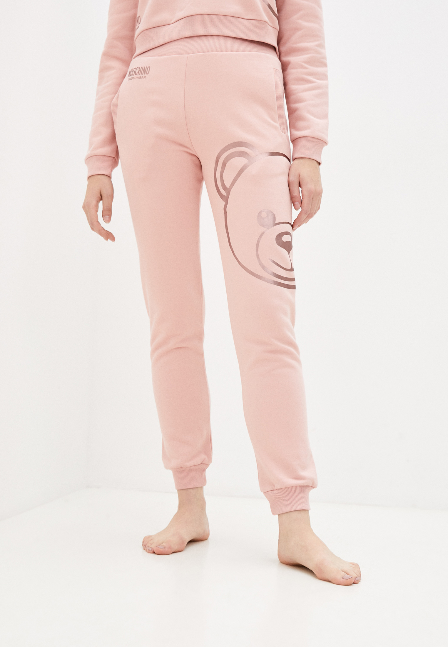 Женские спортивные брюки Moschino Underwear Брюки спортивные Moschino Underwear