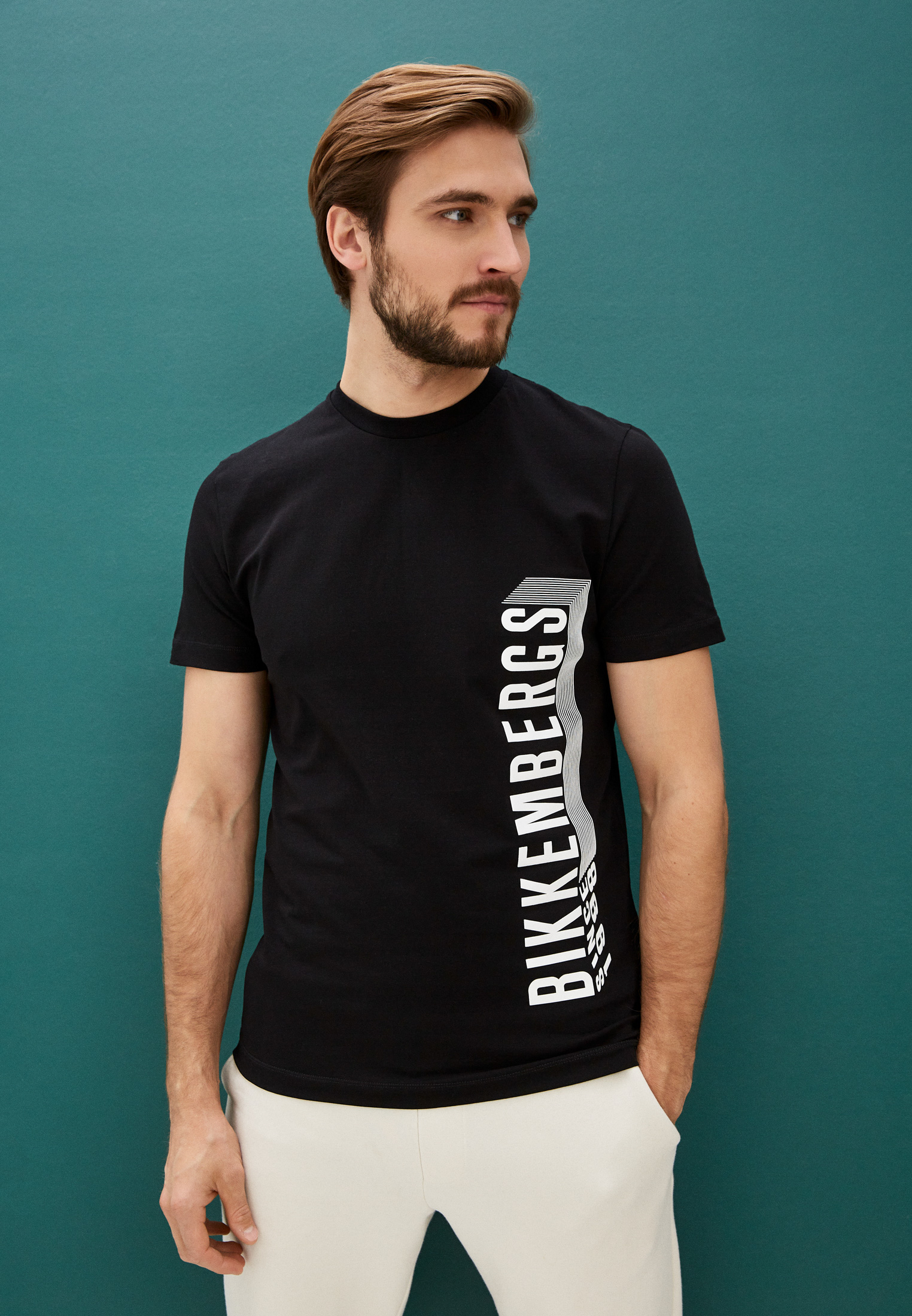 Мужская футболка Bikkembergs (Биккембергс) C 4 101 47 E 2296: изображение 2
