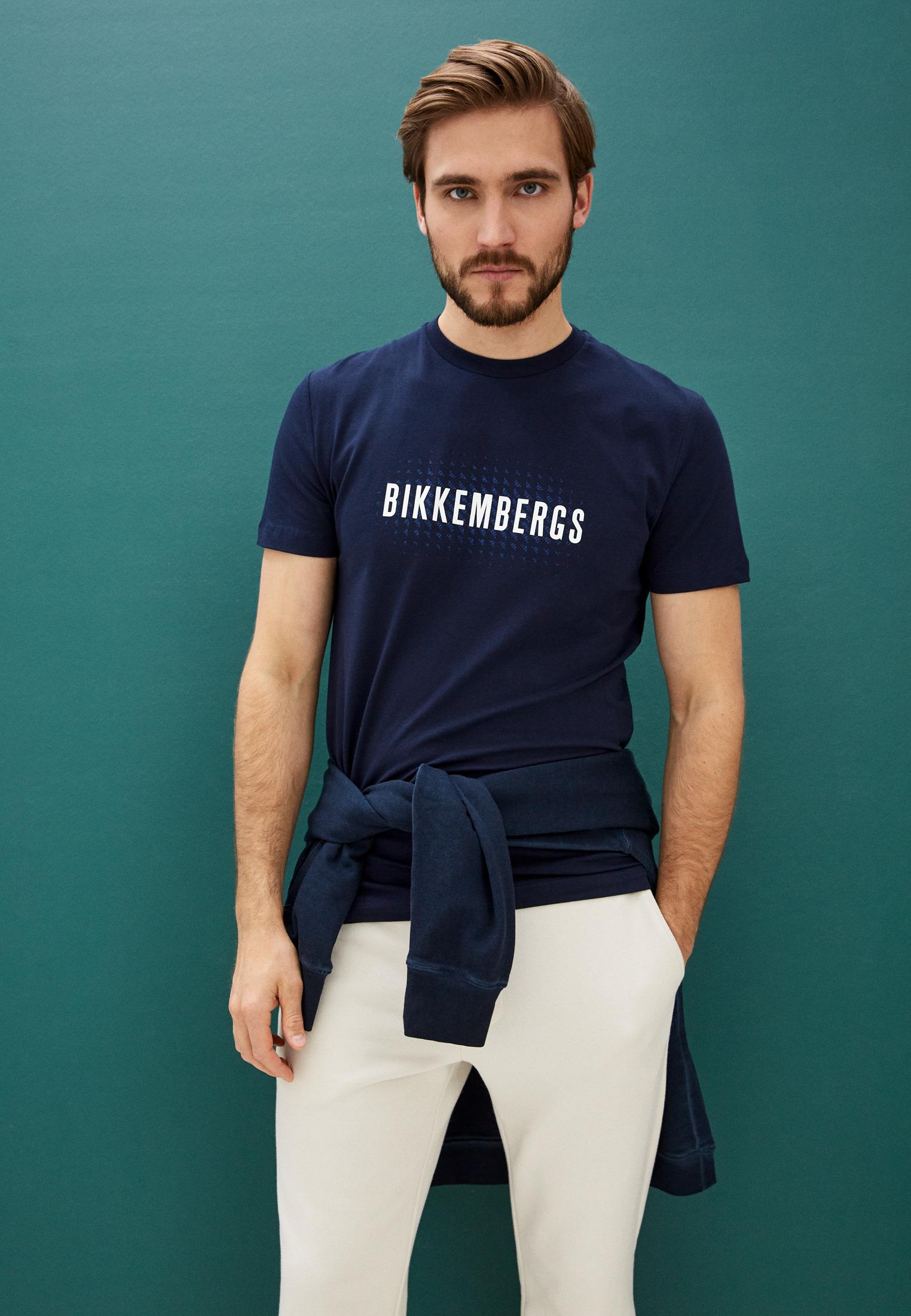 Мужская футболка Bikkembergs (Биккембергс) C 4 101 49 E 2296: изображение 2