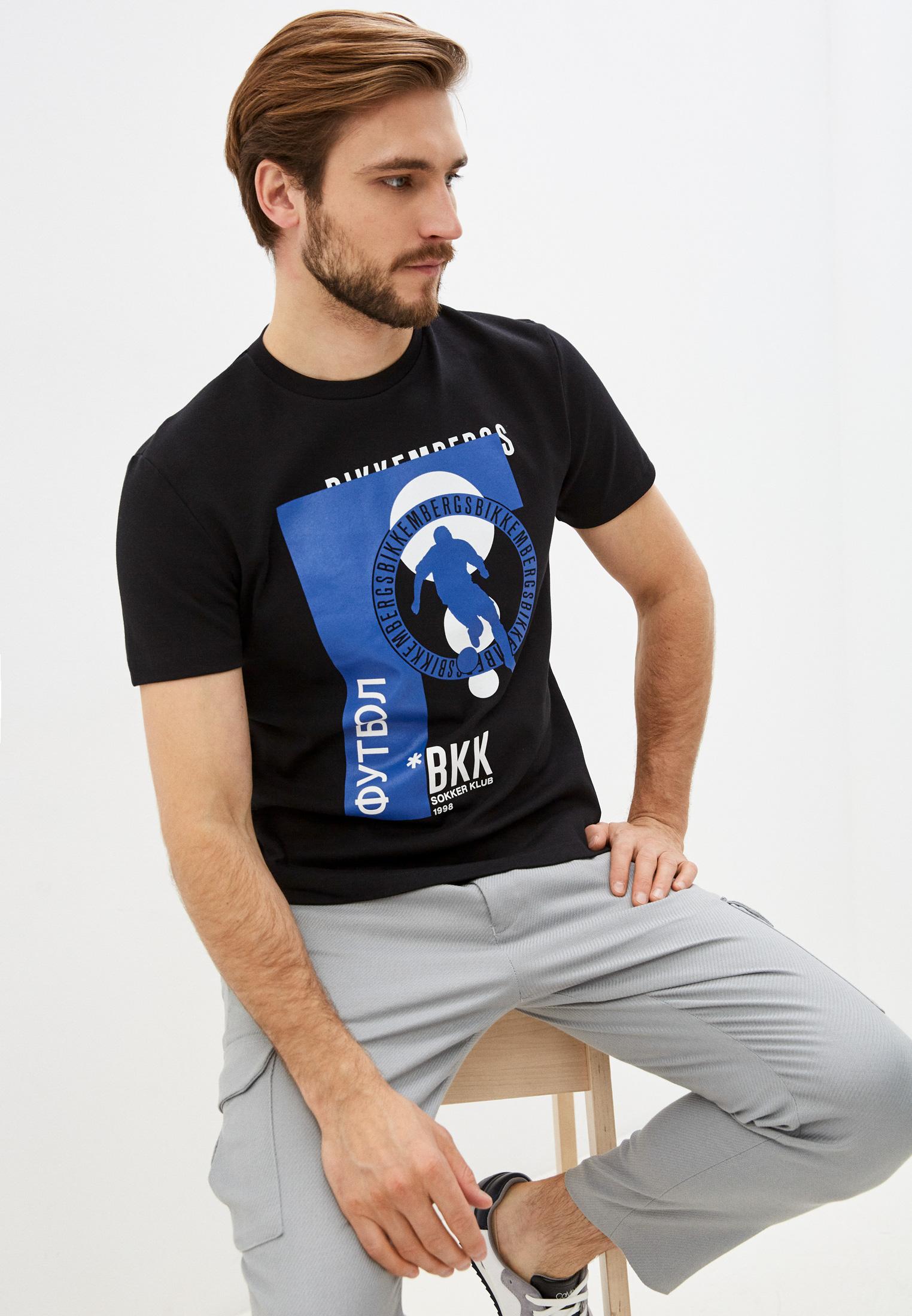 Мужская футболка Bikkembergs (Биккембергс) C 4 101 59 E 2298