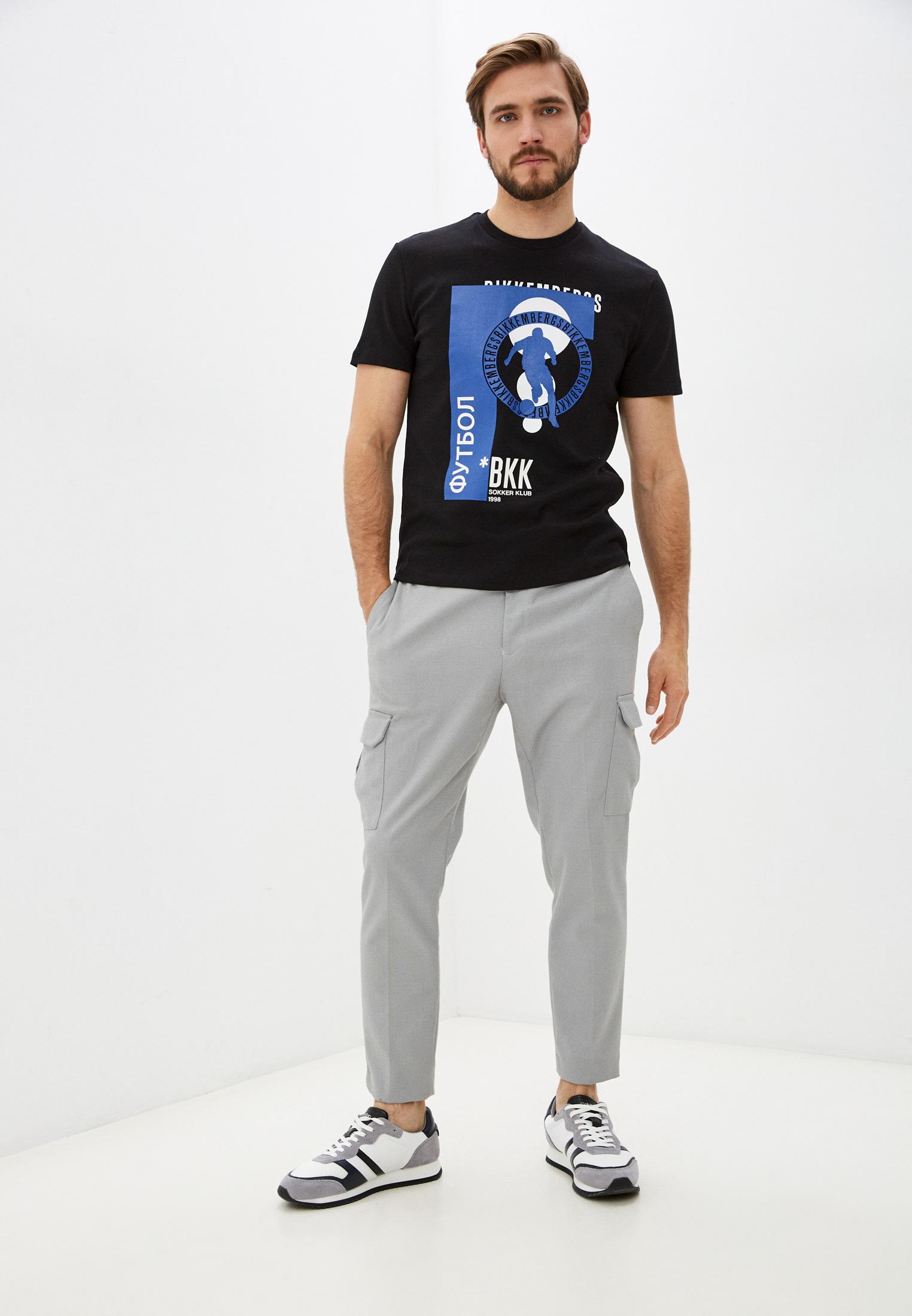 Мужская футболка Bikkembergs (Биккембергс) C 4 101 59 E 2298: изображение 3