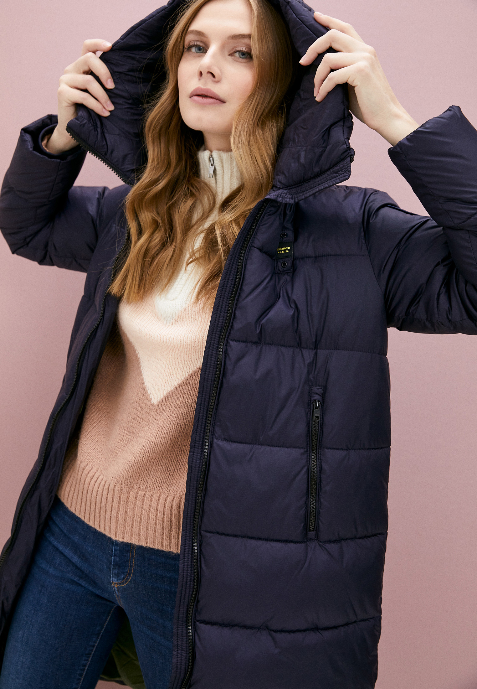 Утепленная куртка Blauer usa Куртка утепленная Blauer USA