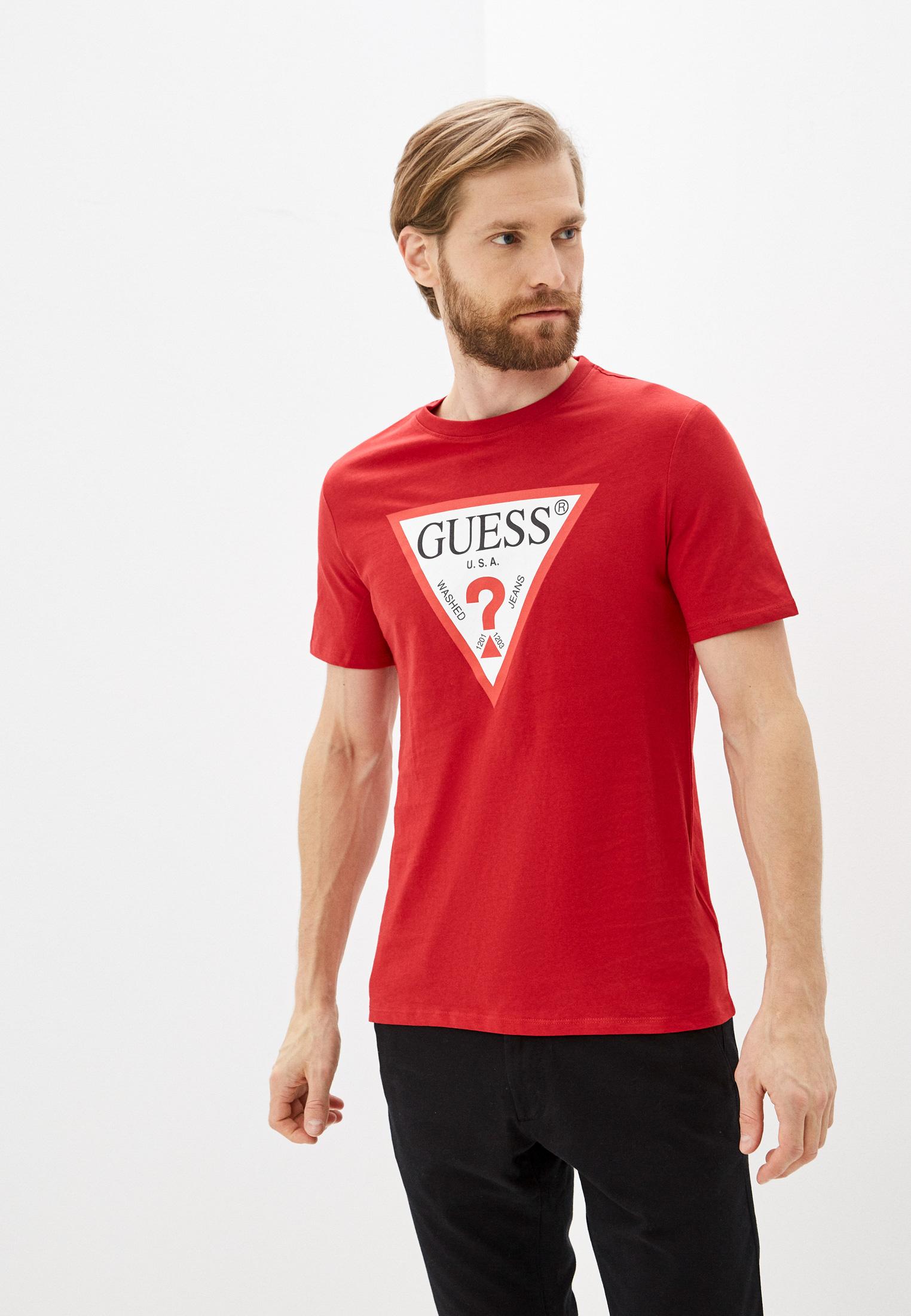 Футболка с коротким рукавом Guess Jeans Футболка Guess Jeans