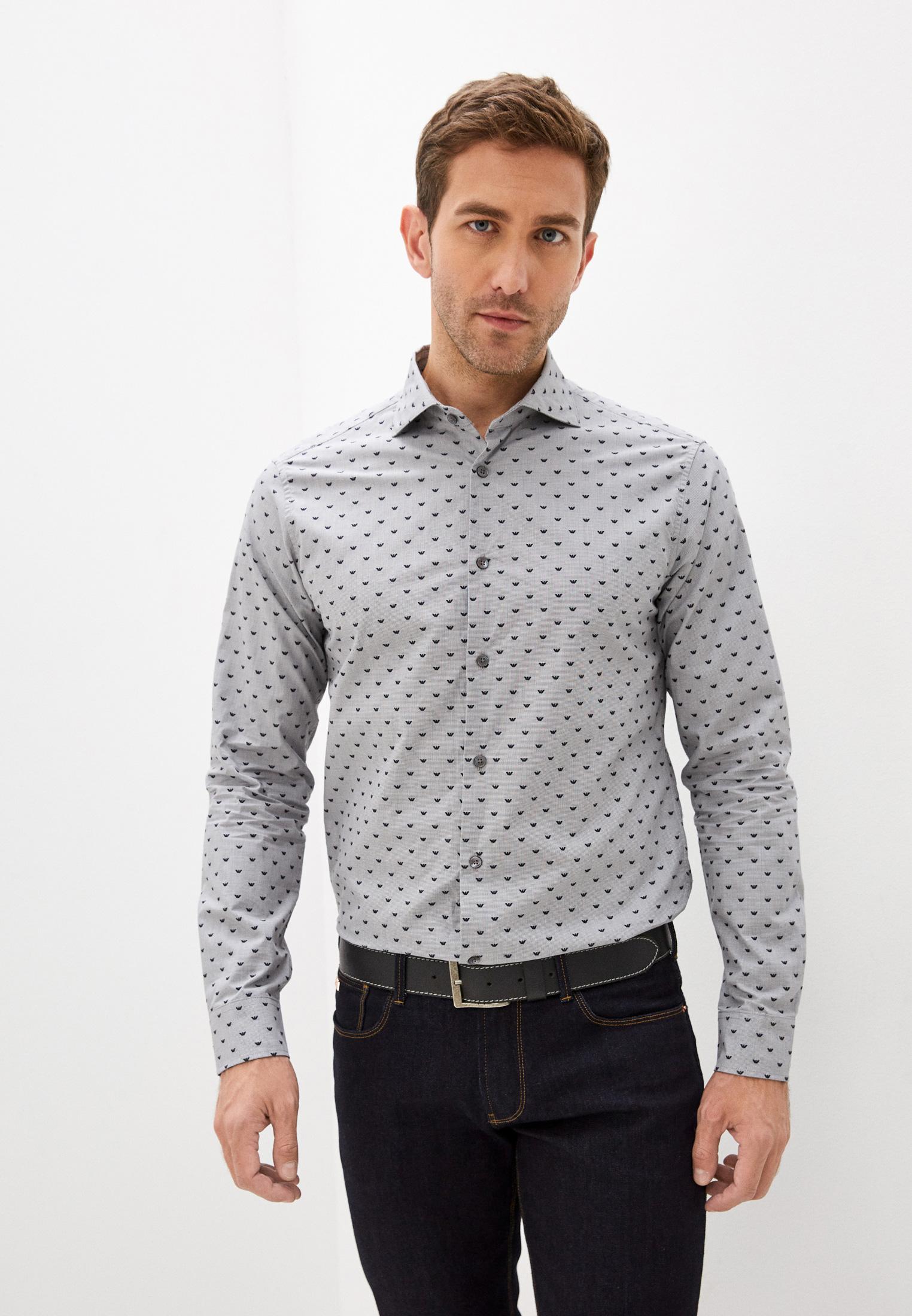 Рубашка с длинным рукавом Emporio Armani (Эмпорио Армани) 6K1CD4 1NZRZ