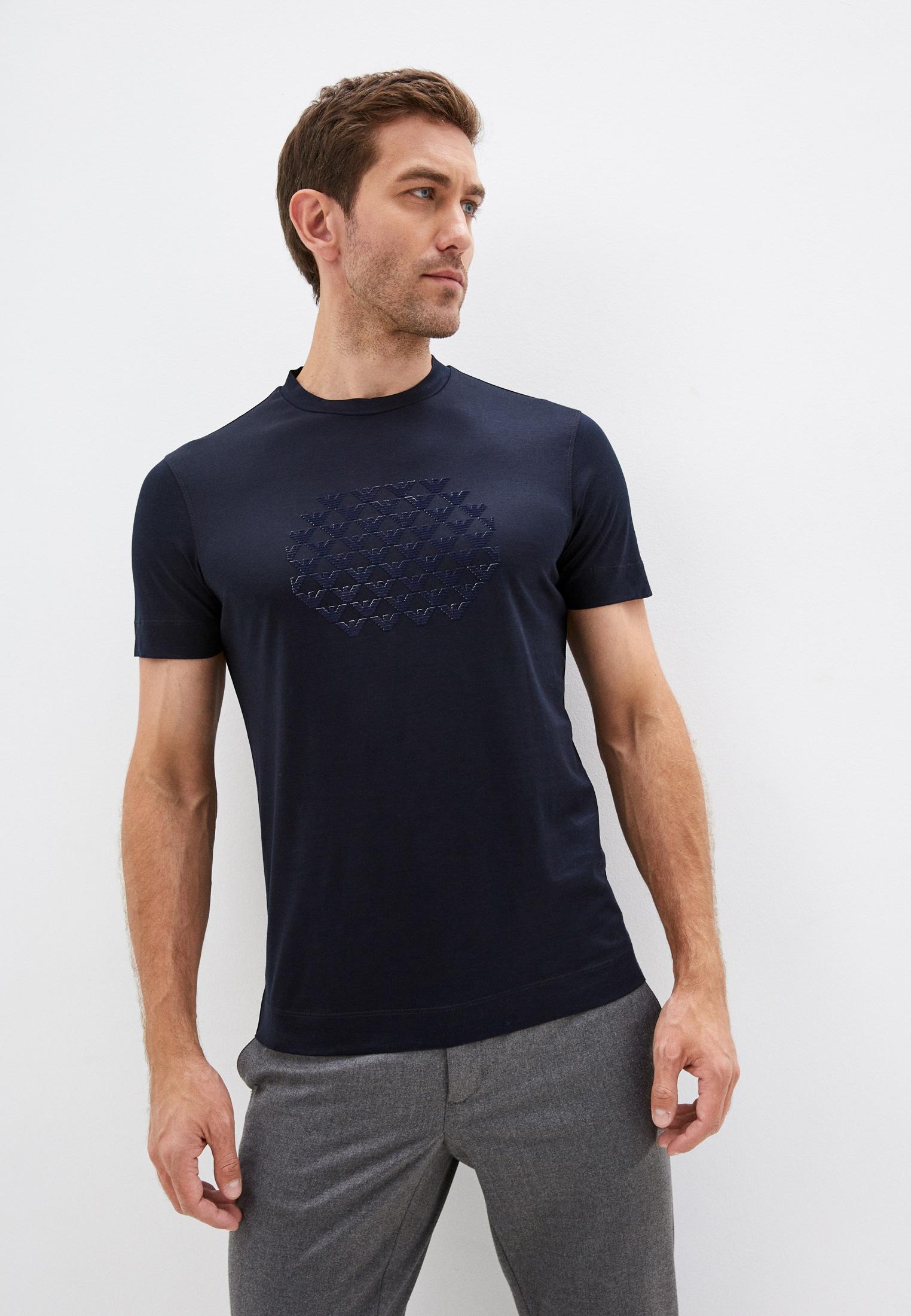 Мужская футболка Emporio Armani (Эмпорио Армани) 6K1TA4 1JUVZ