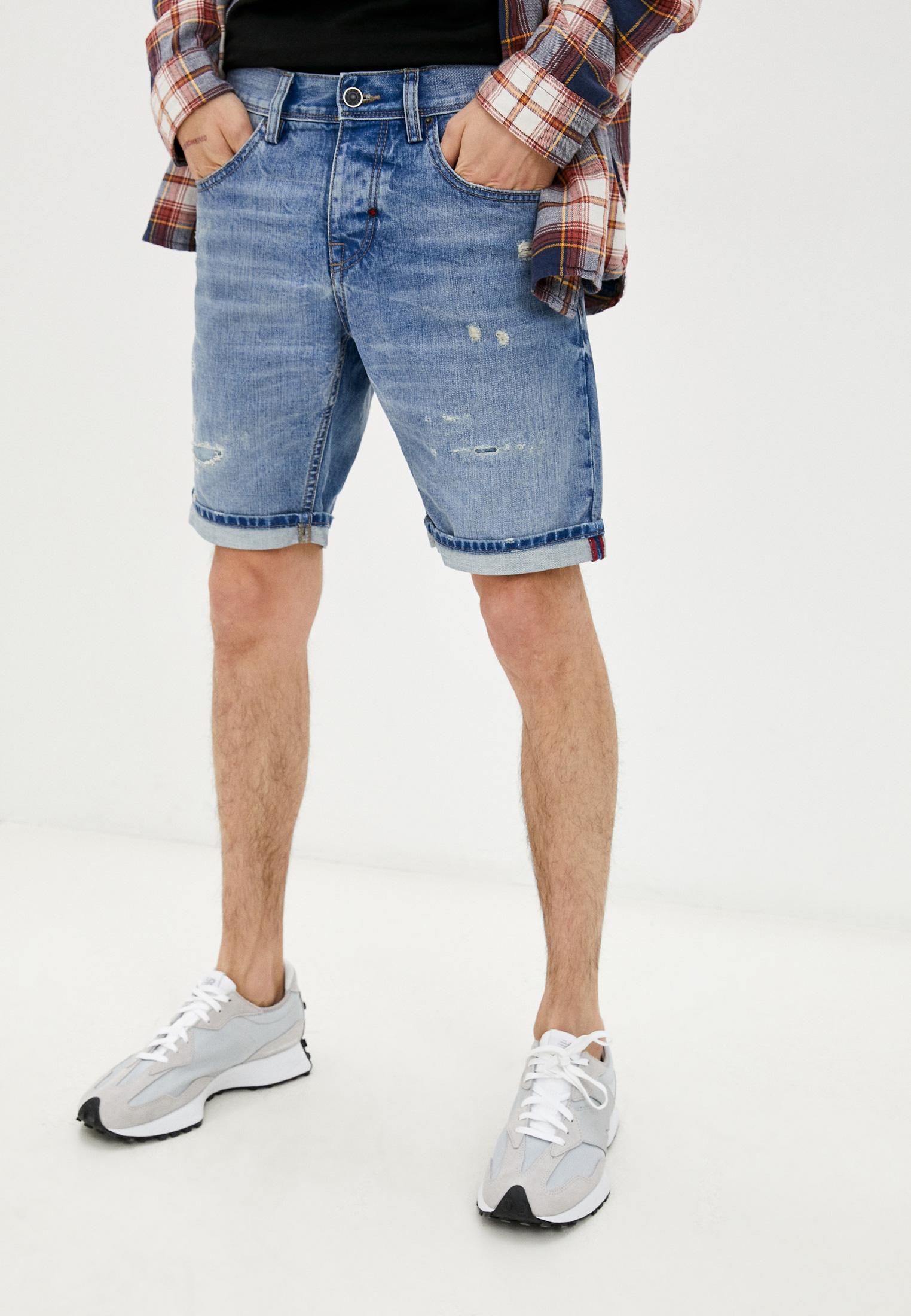 Мужские джинсовые шорты Antony Morato Шорты джинсовые Antony Morato