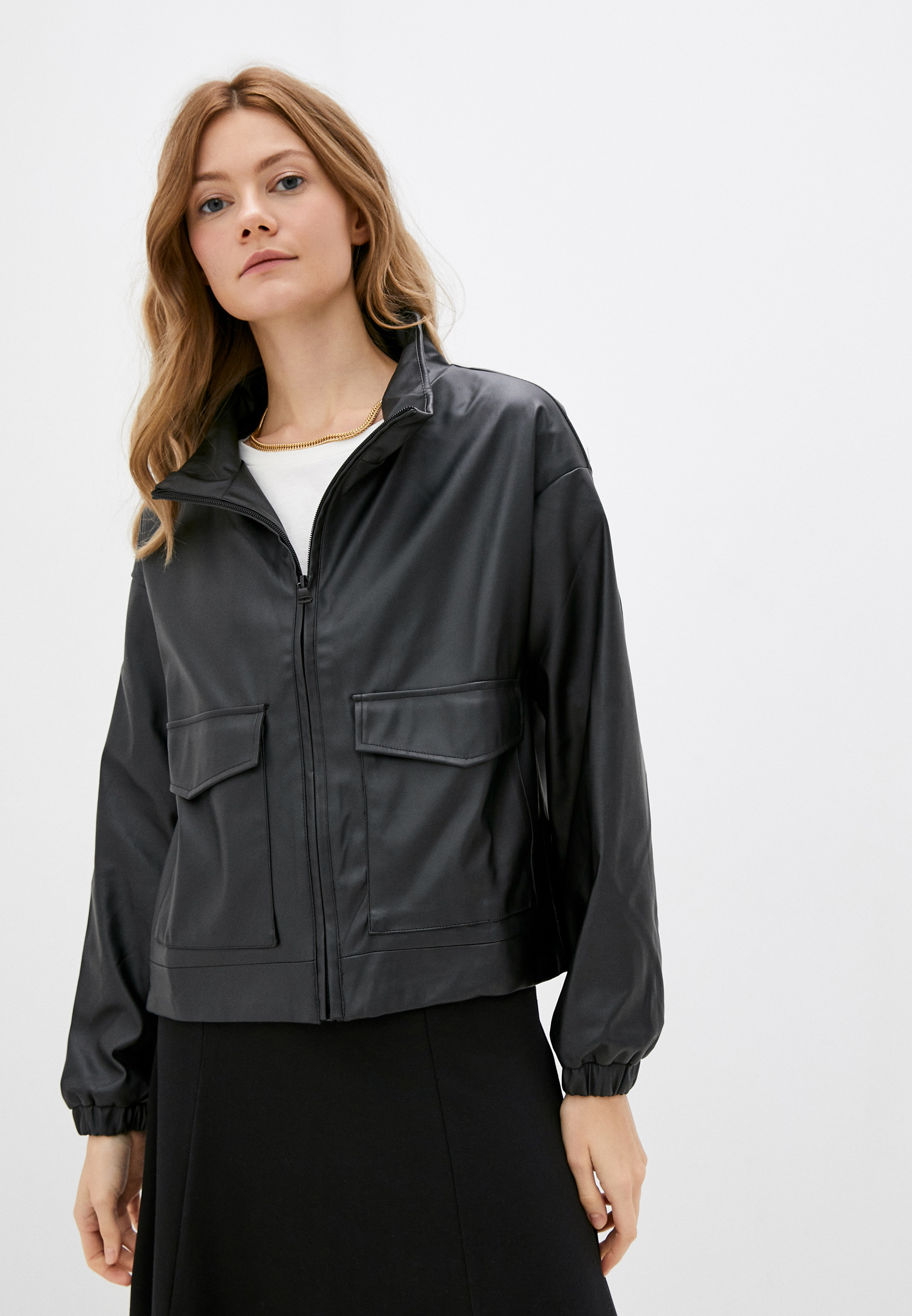 Кожаная куртка Francesca Peretti SS21067