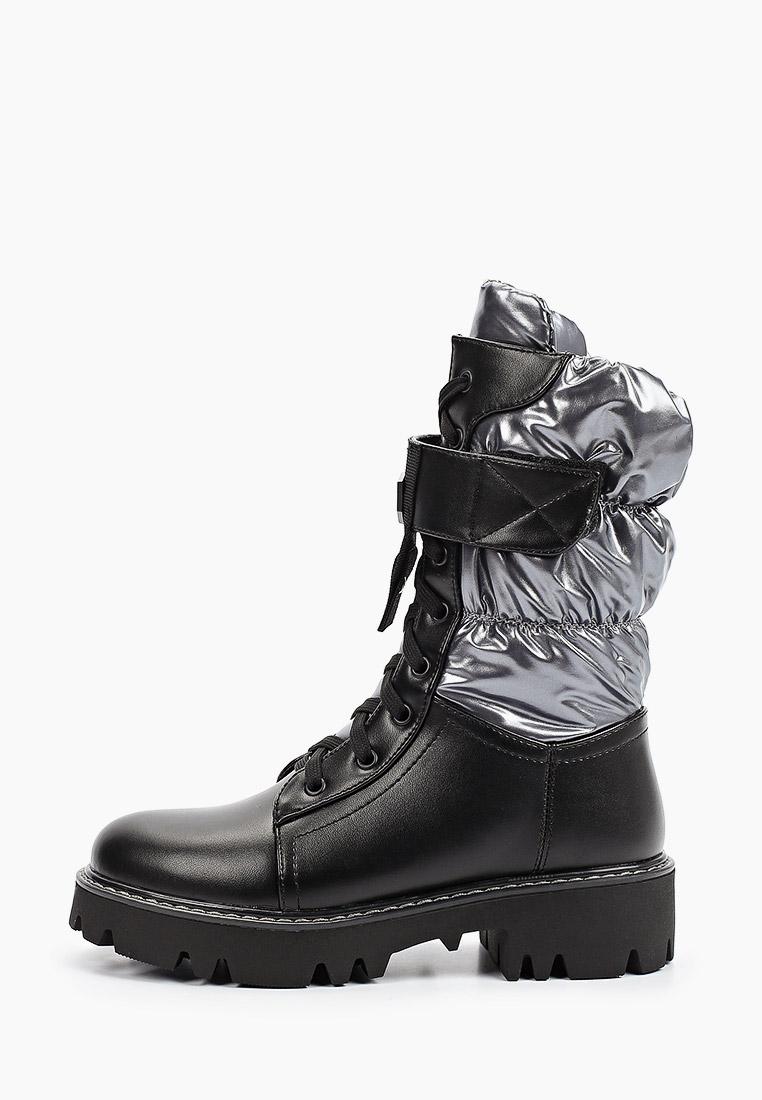 Ботинки для девочек KENKA HVL_5655-7_black-grey