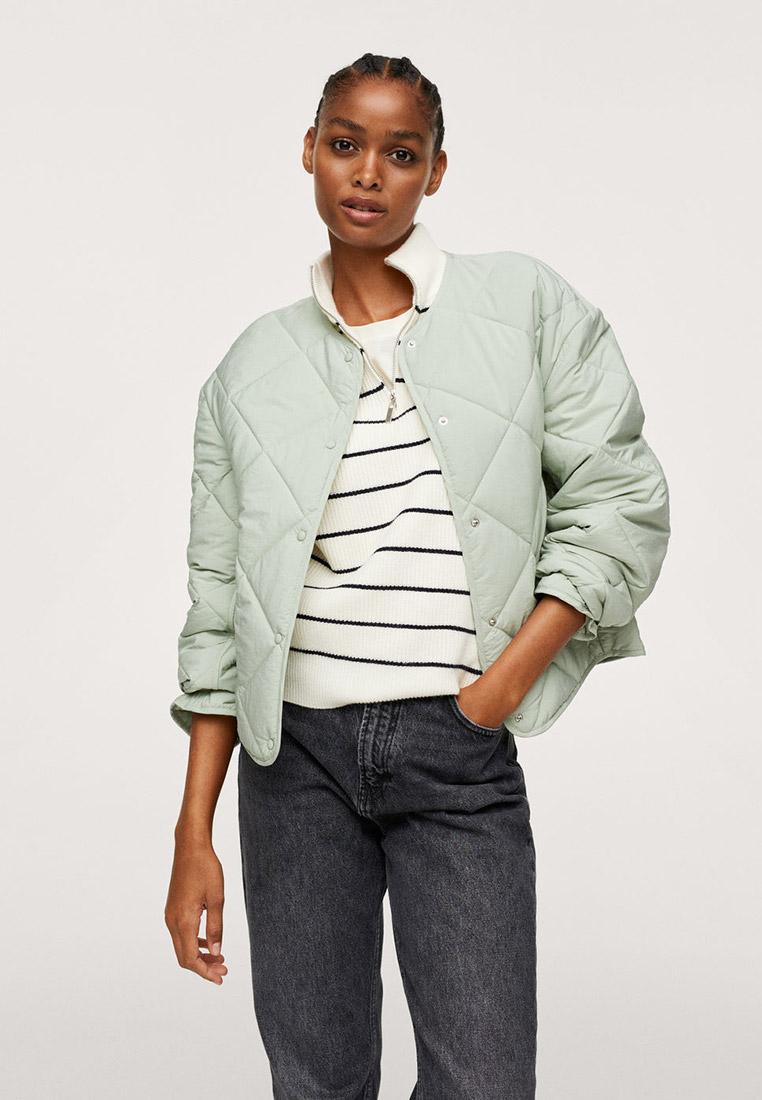 Утепленная куртка Mango (Манго) 17044387