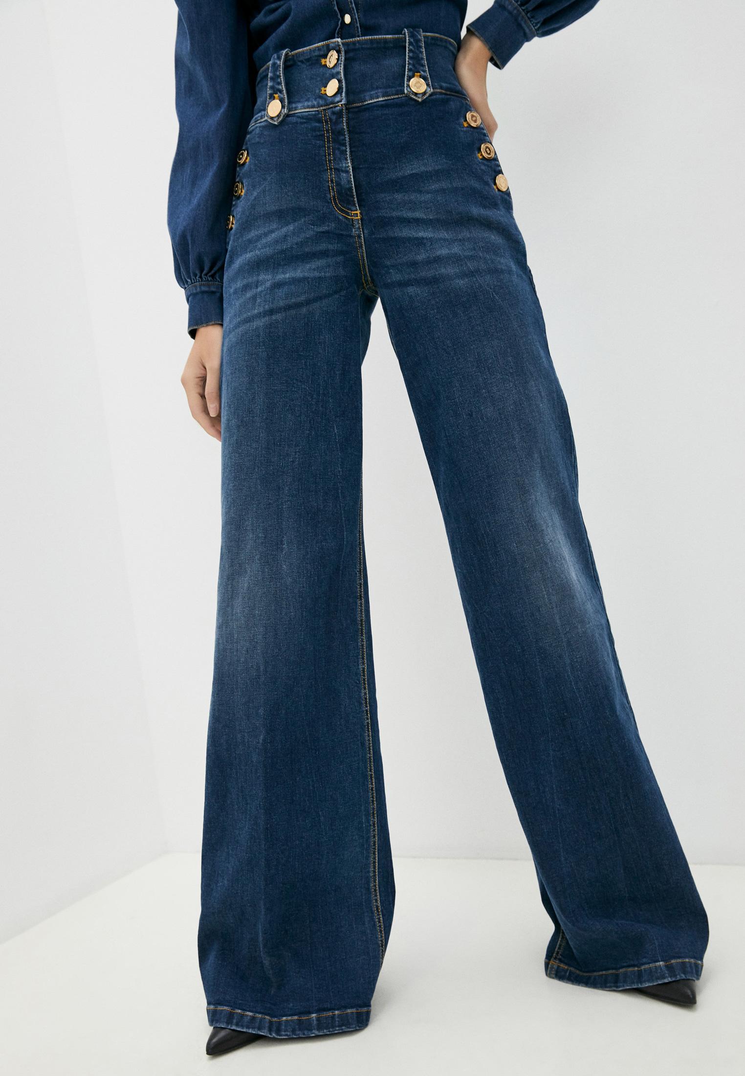 Широкие и расклешенные джинсы Elisabetta Franchi Джинсы Elisabetta Franchi