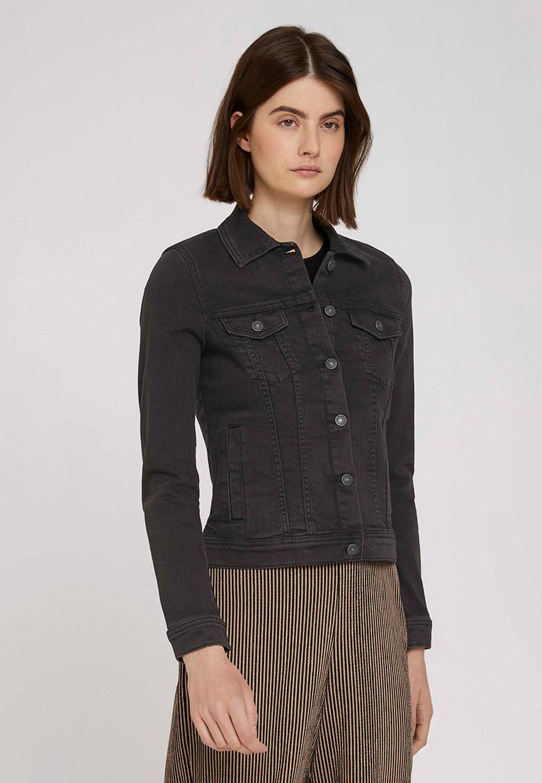 Джинсовая куртка Tom Tailor Denim Куртка джинсовая Tom Tailor Denim