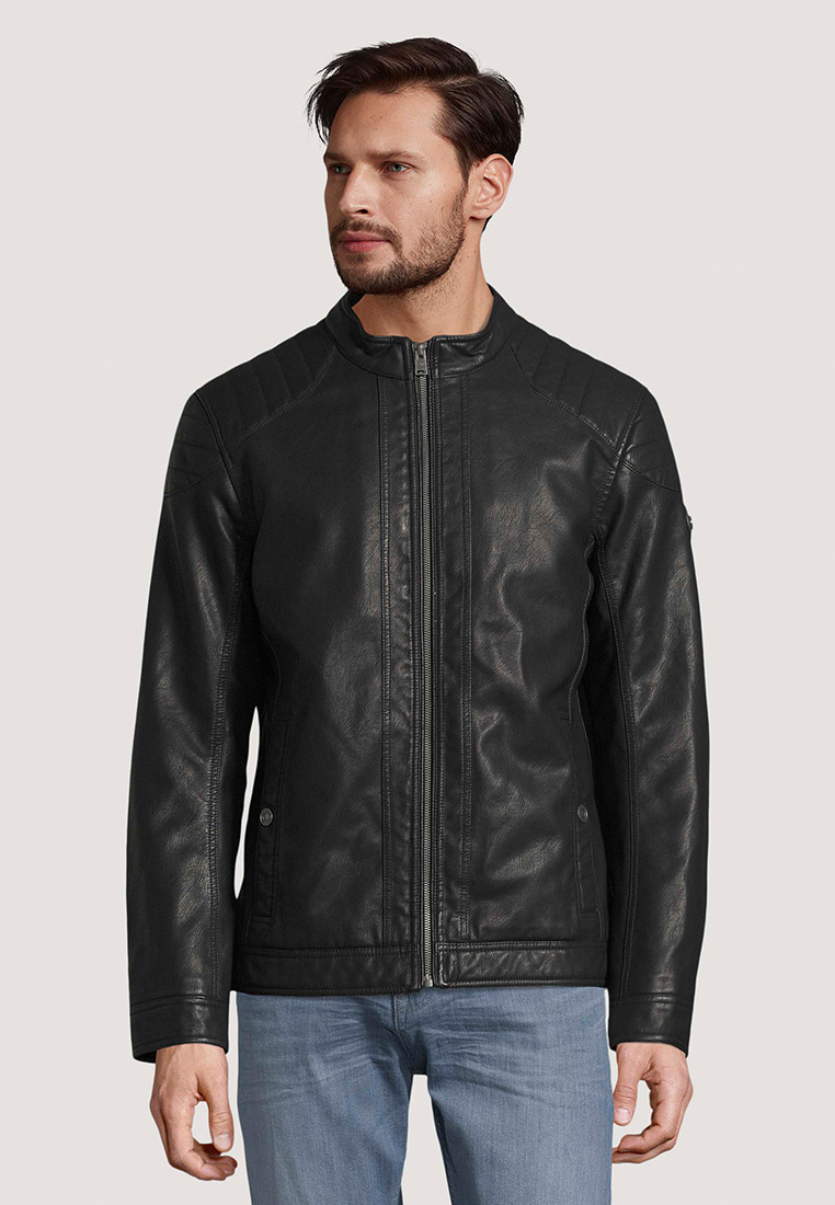 Кожаная куртка Tom Tailor (Том Тейлор) Куртка кожаная Tom Tailor