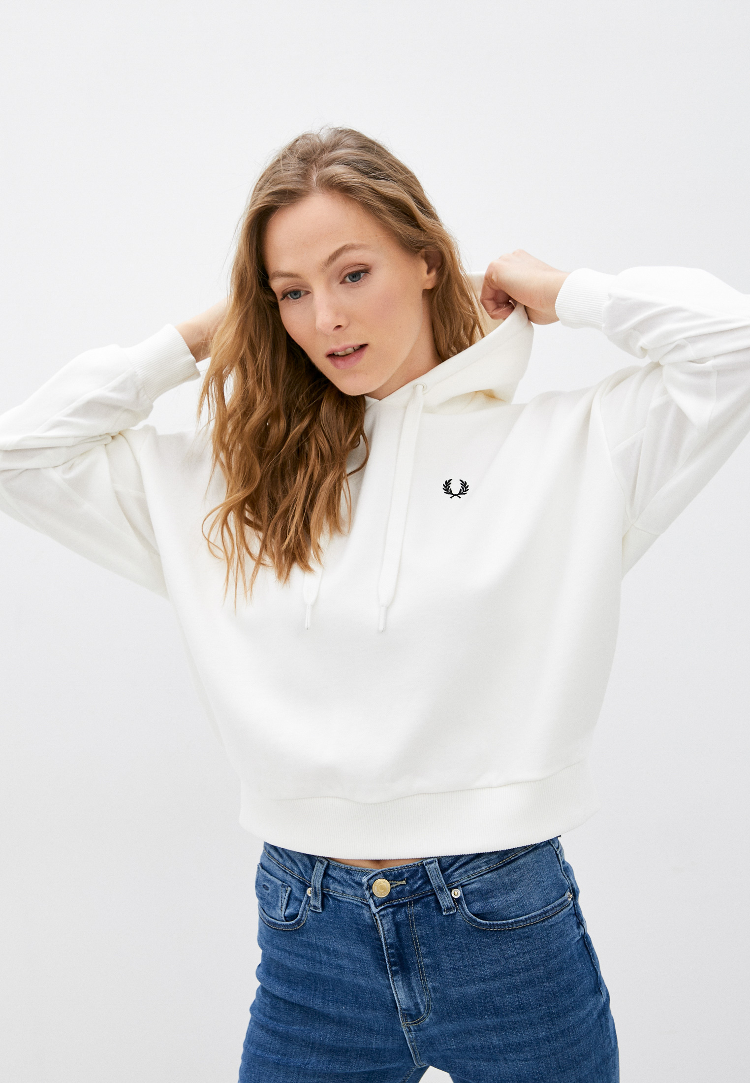Женские худи Fred Perry Худи Fred Perry