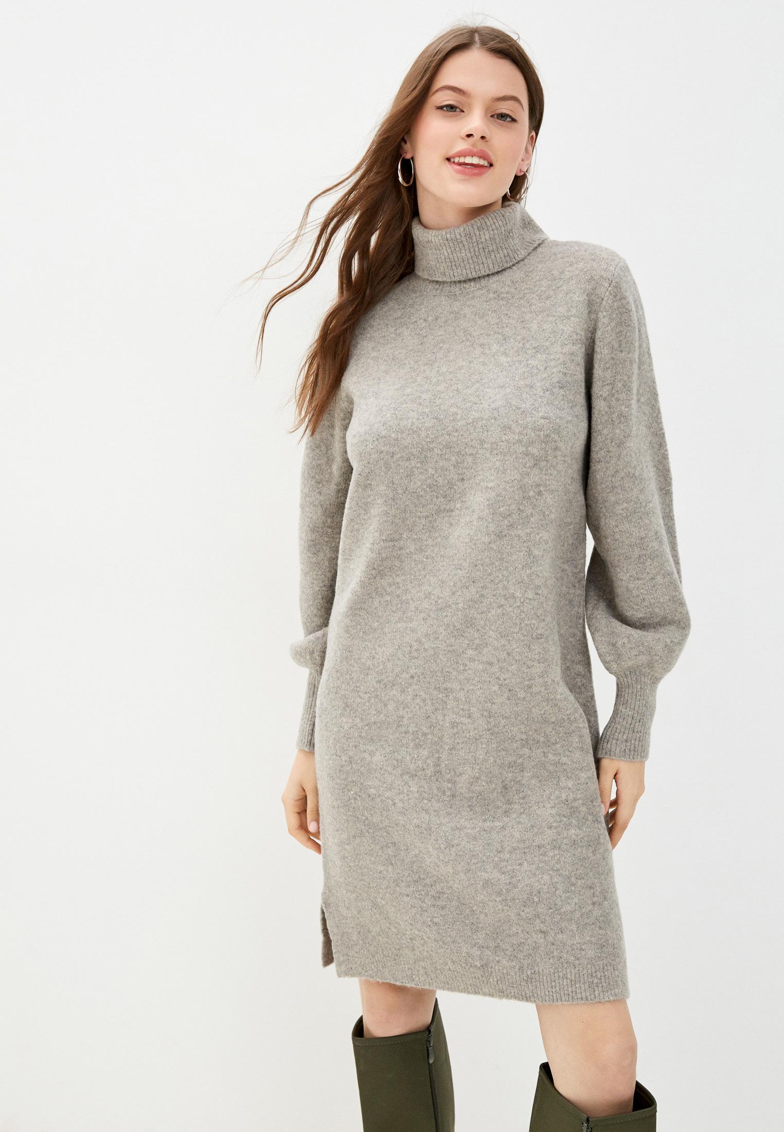 Вязаное платье Pieces 17115011