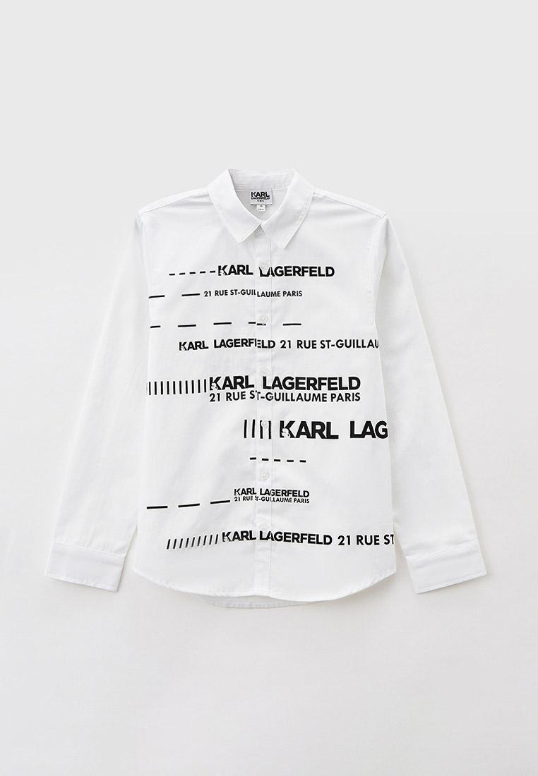 Рубашка KARL LAGERFELD KIDS Рубашка Karl Lagerfeld Kids