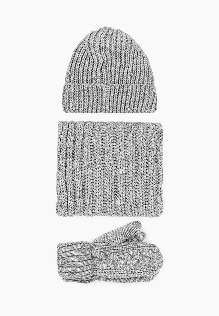 Комплект TrendyAngel Шапка, шарф и варежки TrendyAngel