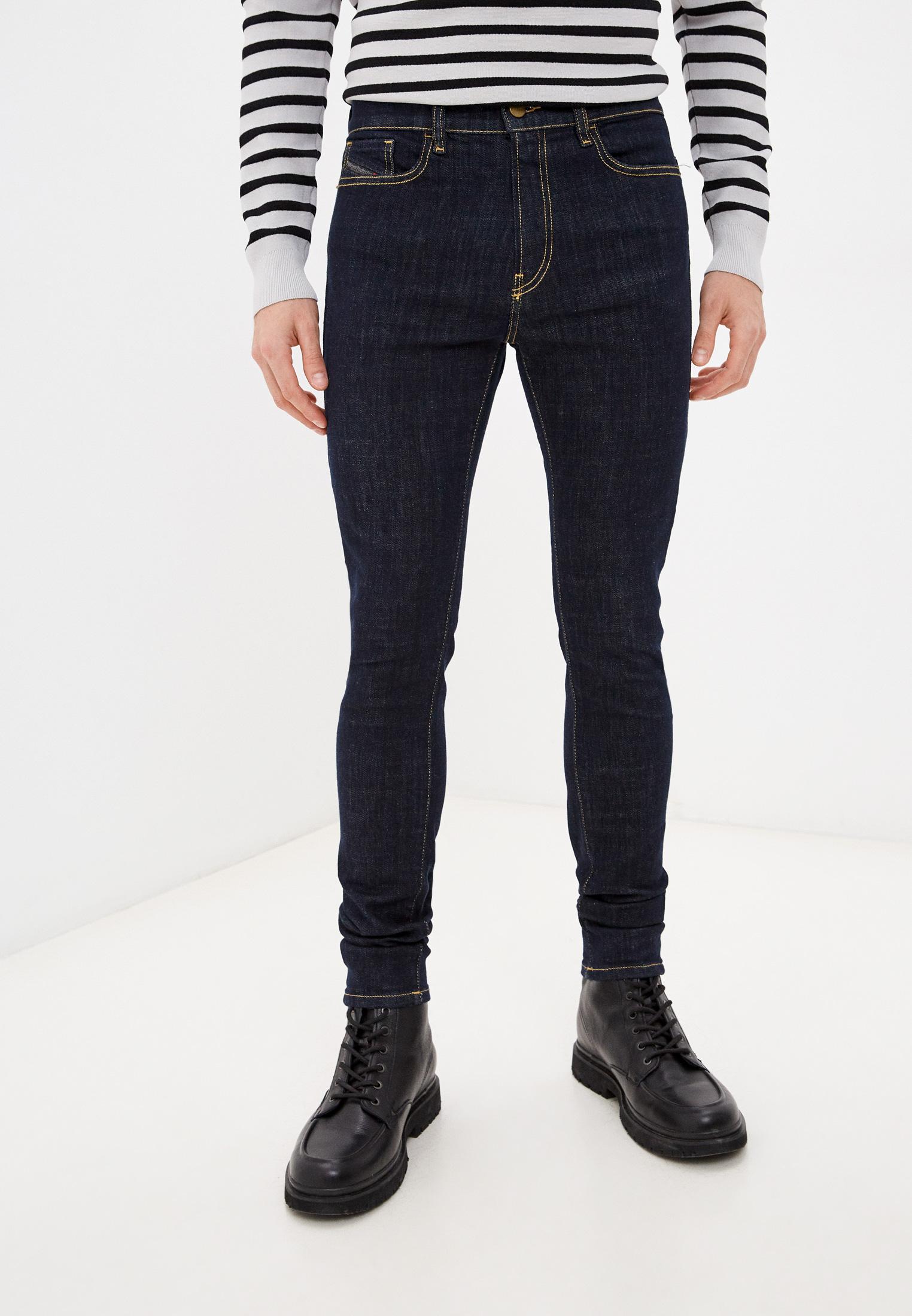 Мужские зауженные джинсы Diesel (Дизель) 00SMZ8089AC