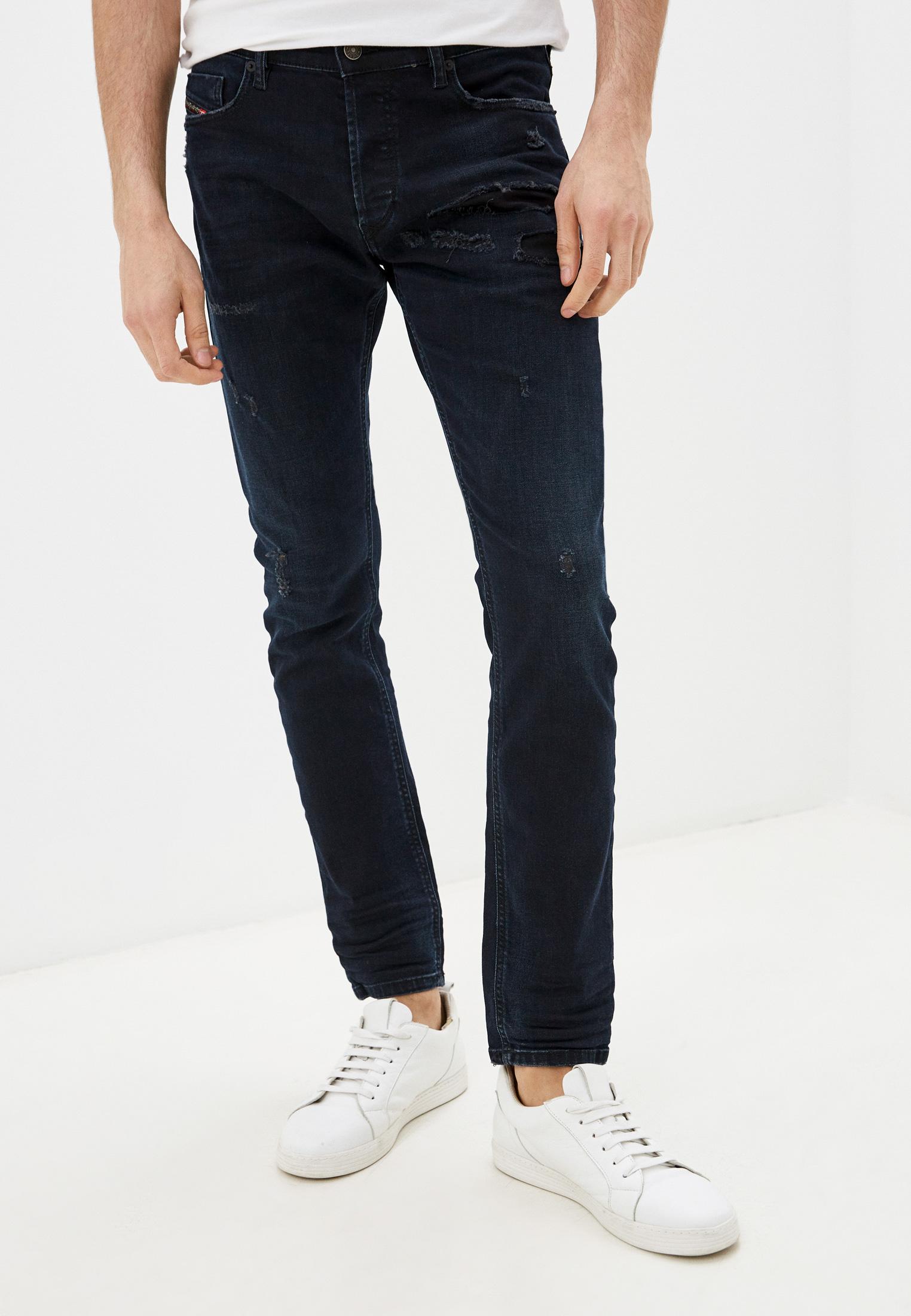 Мужские зауженные джинсы Diesel (Дизель) 00SWIC069GM
