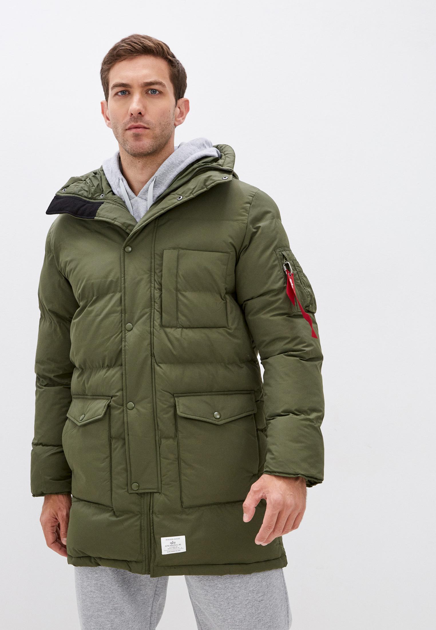 Утепленная куртка Alpha Industries (Альфа Индастриз) Парка Alpha Industries