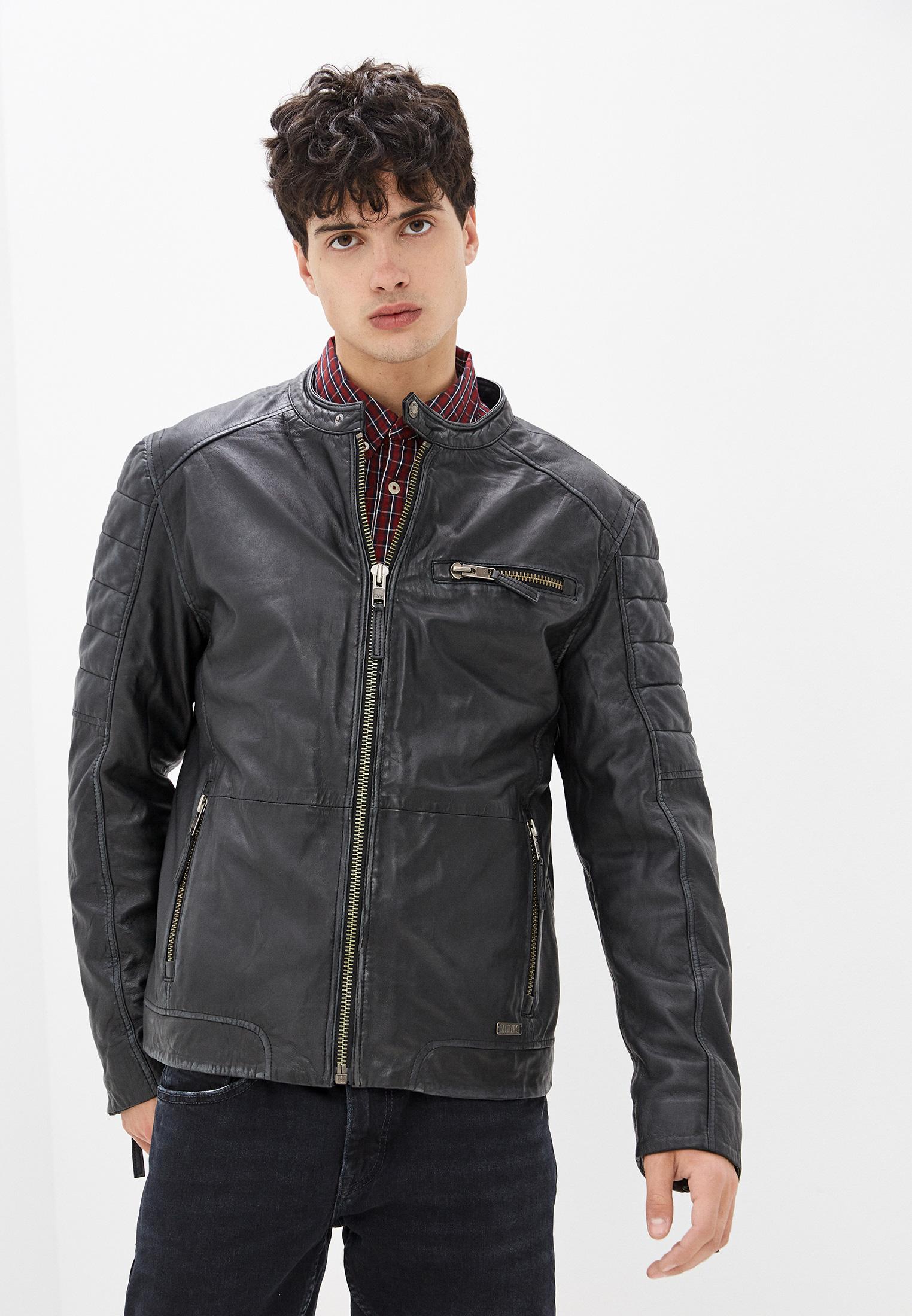 Кожаная куртка Mustang Куртка кожаная Mustang