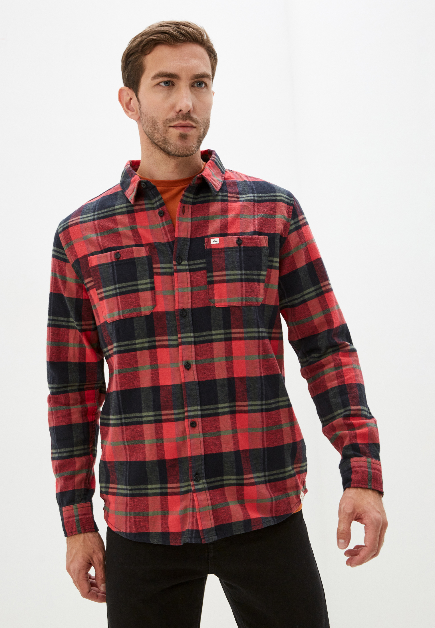 Рубашка Quiksilver (Квиксильвер) Рубашка Quiksilver