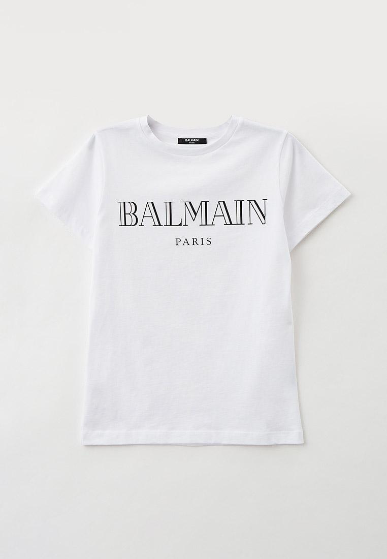 Футболка с коротким рукавом Balmain (Балмаин) Футболка Balmain