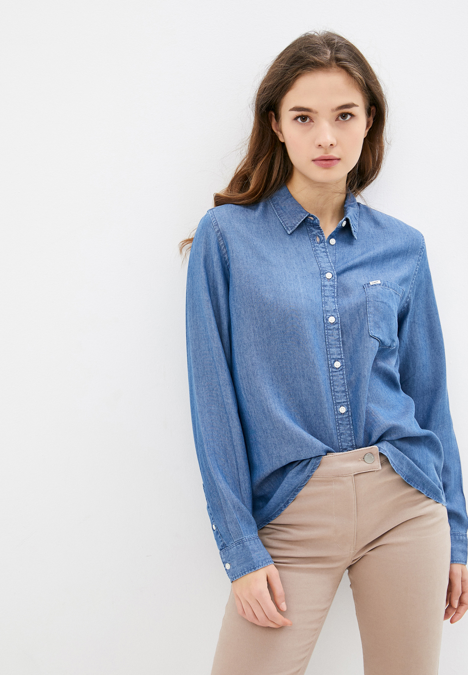 Рубашка Lee (Ли) Рубашка джинсовая Lee