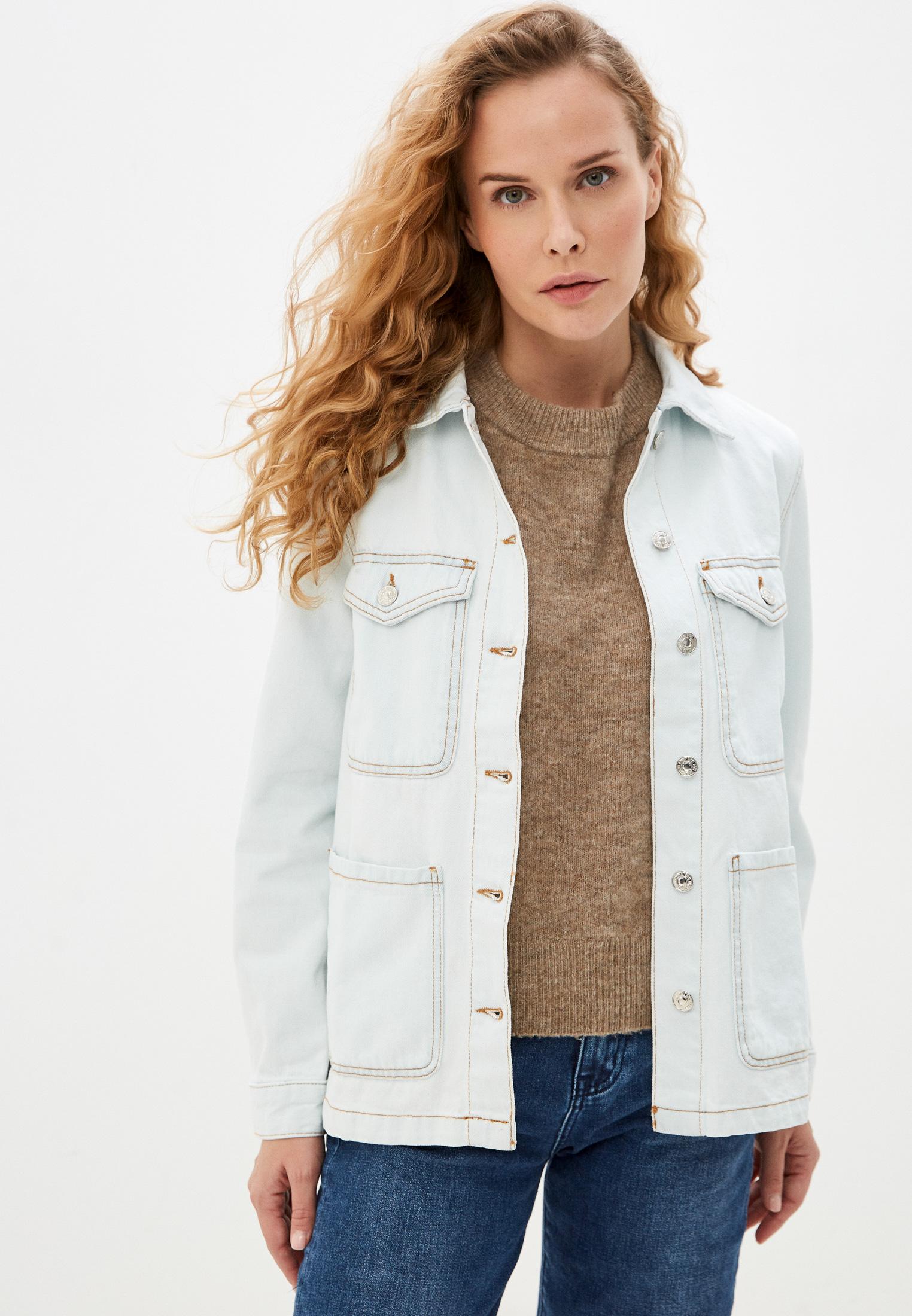 Джинсовая куртка Mango (Манго) Куртка джинсовая Mango