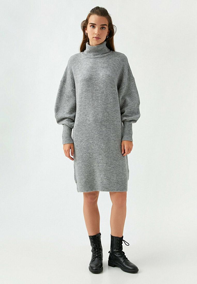Вязаное платье Koton 2KAK92756HT