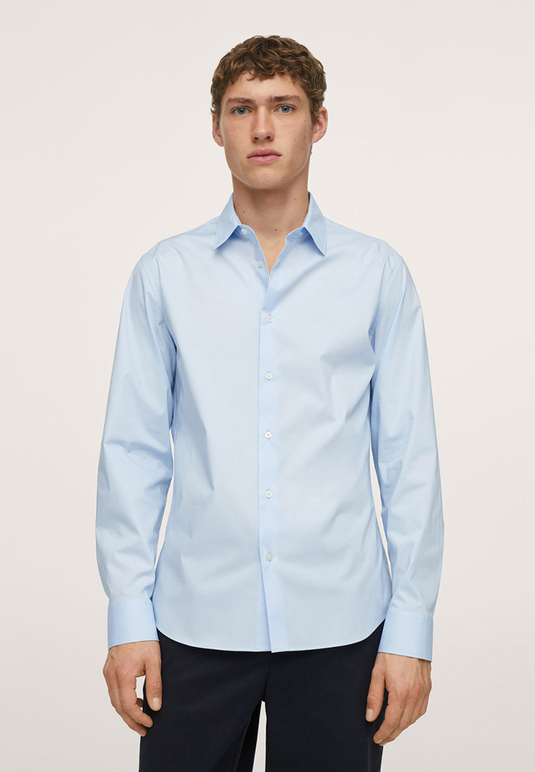 Рубашка с длинным рукавом Mango Man 17045766