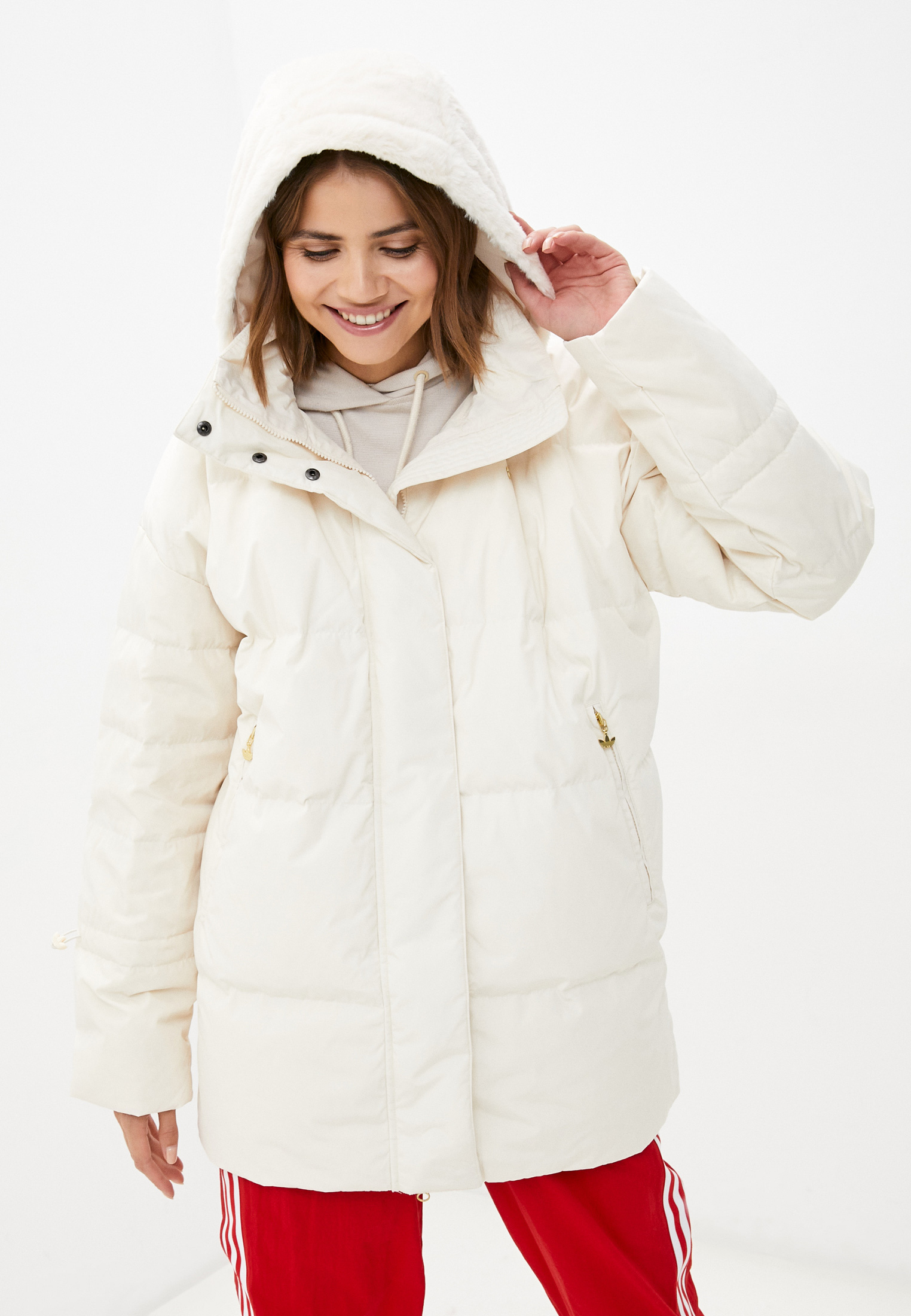 Утепленная куртка Adidas Originals (Адидас Ориджиналс) GU1783