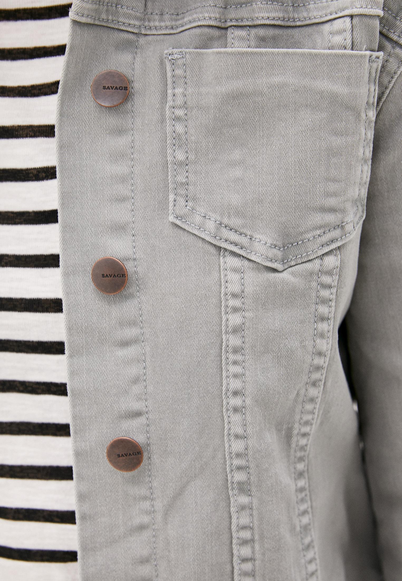 Джинсовая куртка Savage (Саваж) 015612/8: изображение 4