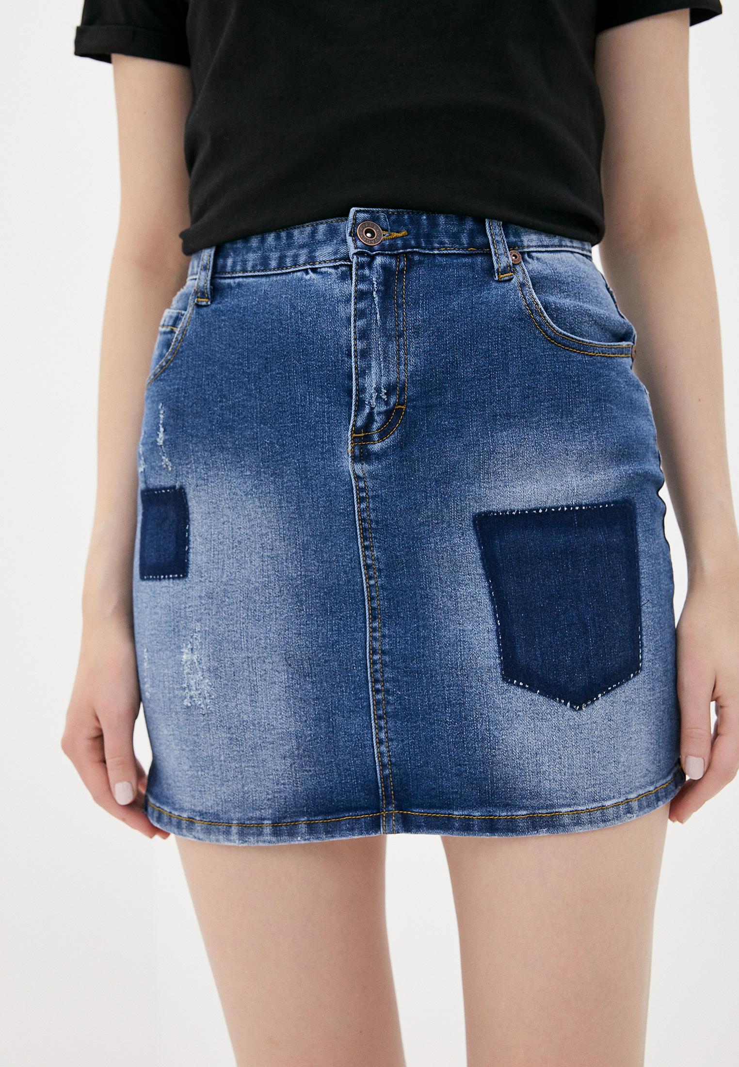 Джинсовая юбка Savage (Саваж) 015605/65