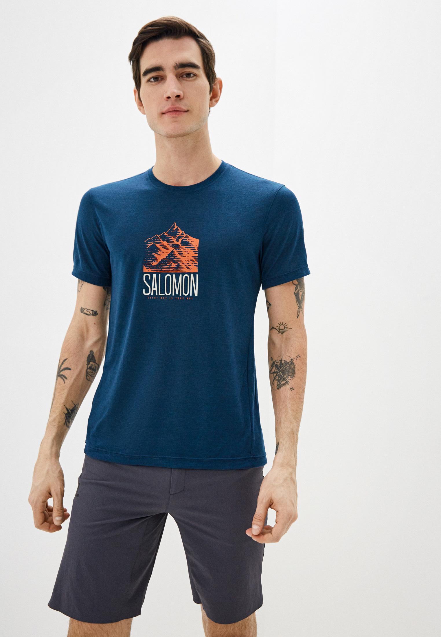 Спортивная футболка SALOMON (Саломон) LC1271500