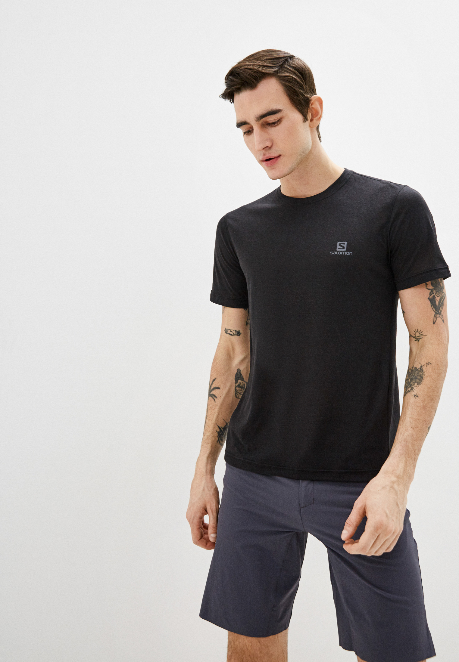 Спортивная футболка SALOMON (Саломон) LC1270400