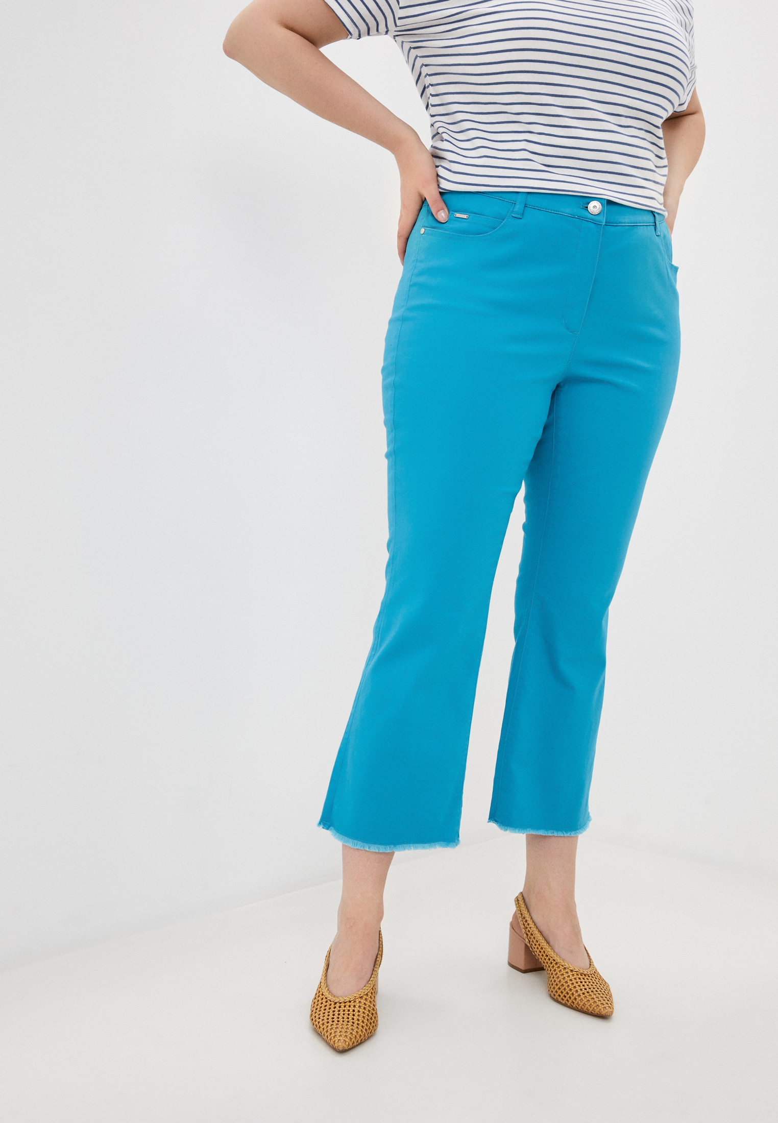 Женские широкие и расклешенные брюки Samoon by Gerry Weber 420036-21144