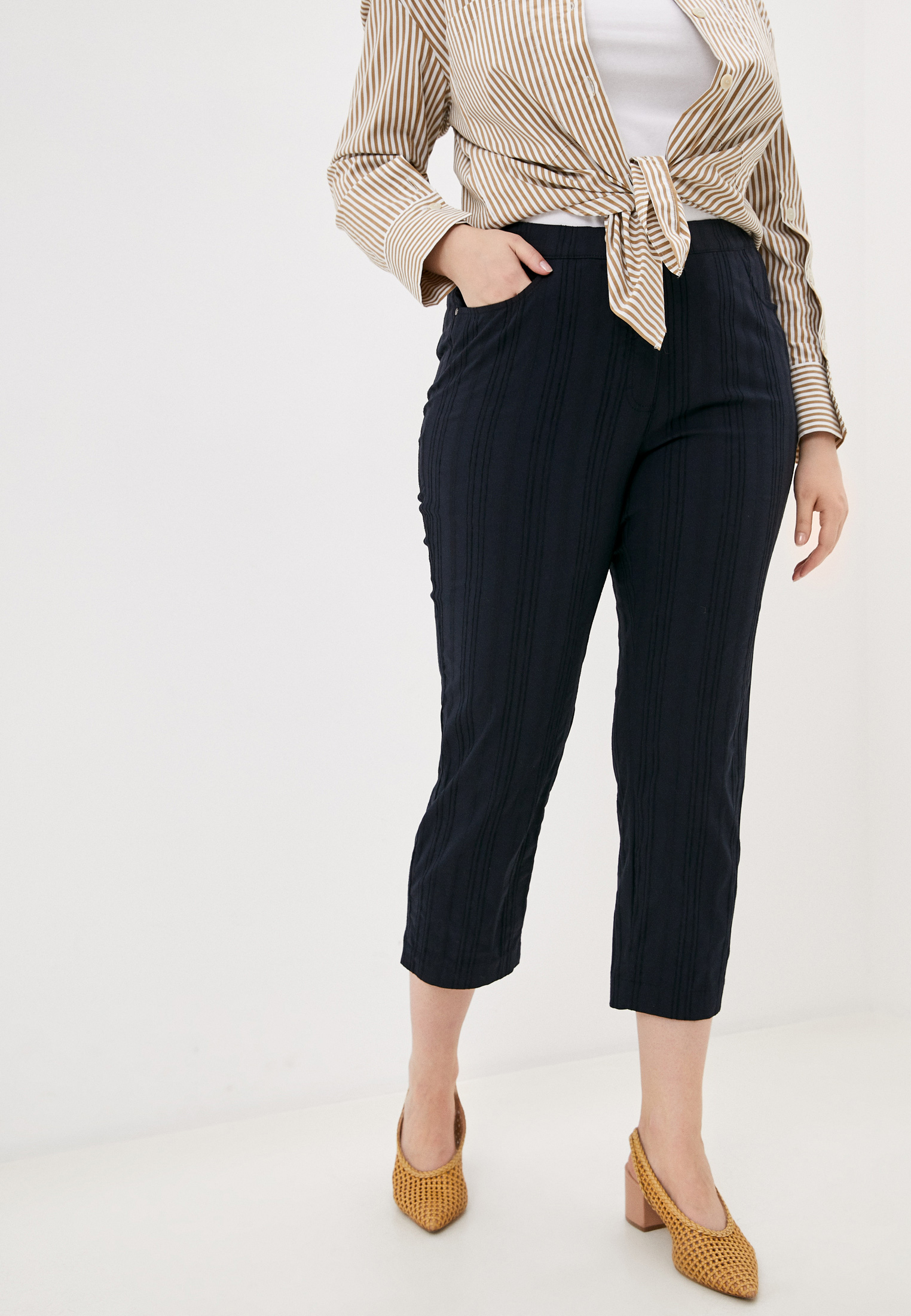 Женские прямые брюки Samoon by Gerry Weber 420099-21048