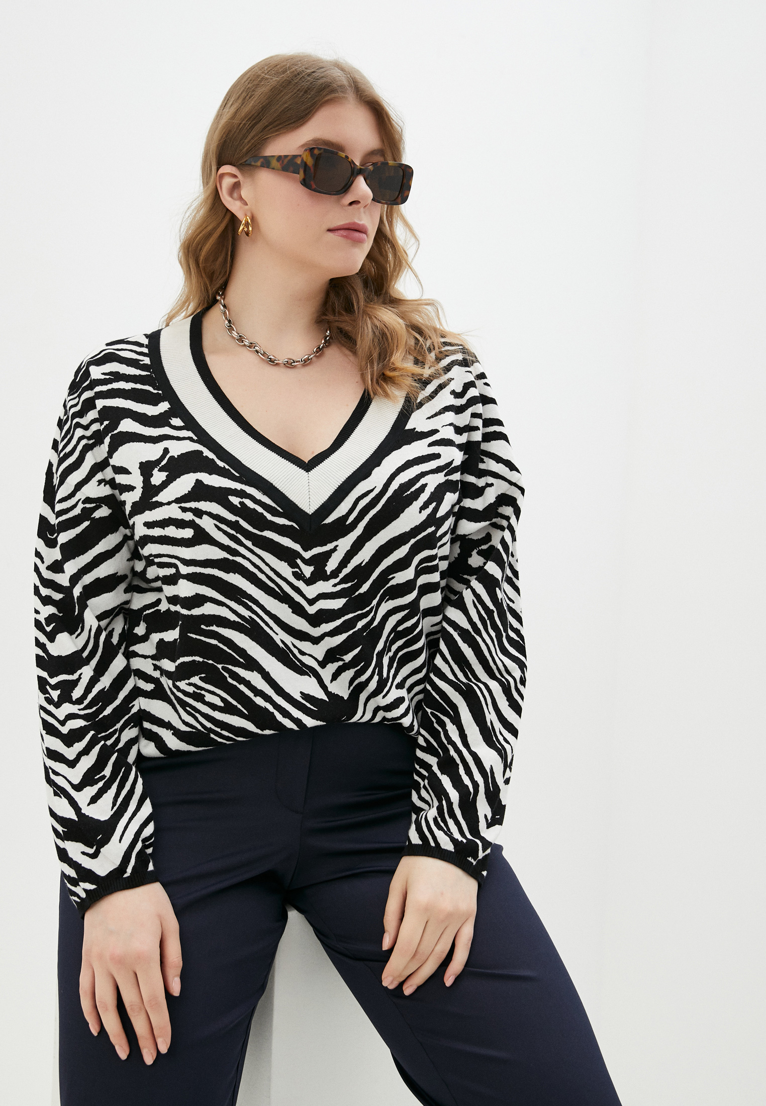 Пуловер Samoon by Gerry Weber 672012-25109