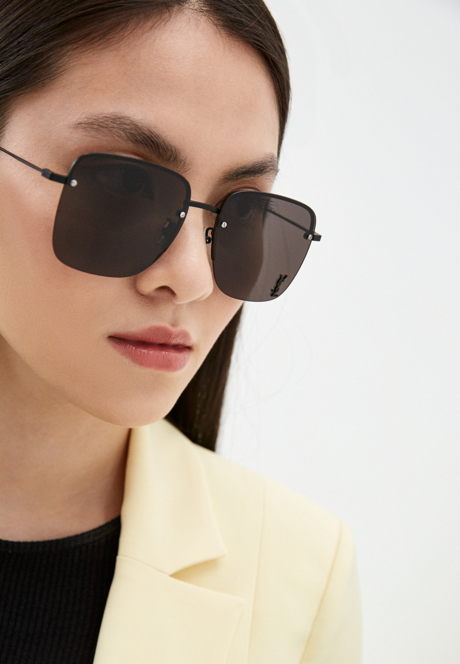 Женские солнцезащитные очки Saint Laurent SL 312 M