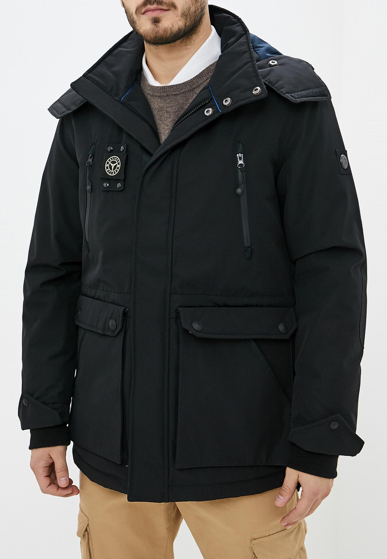 Утепленная куртка Sailors and Brides IND-118 - BLACK